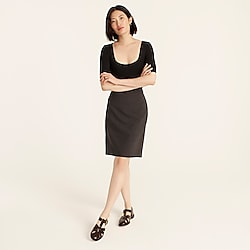 Petite No. 2 Pencil® skirt in Italian stretch wool