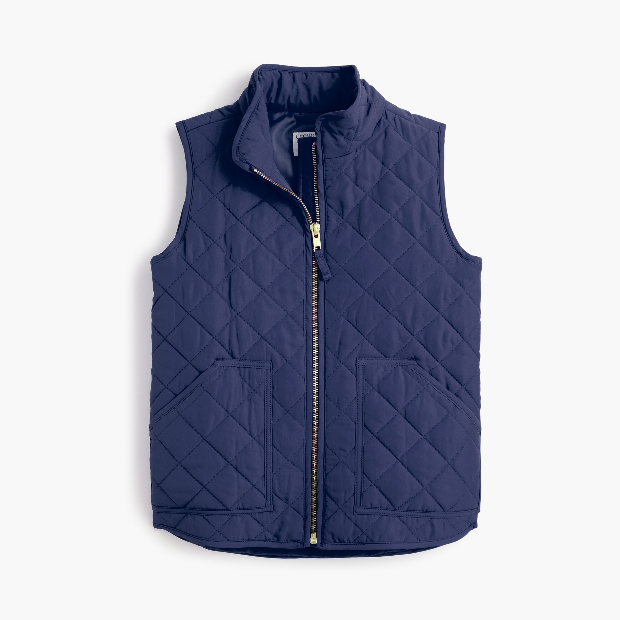 girls Girls' J.Crew Mercantile quilted vest