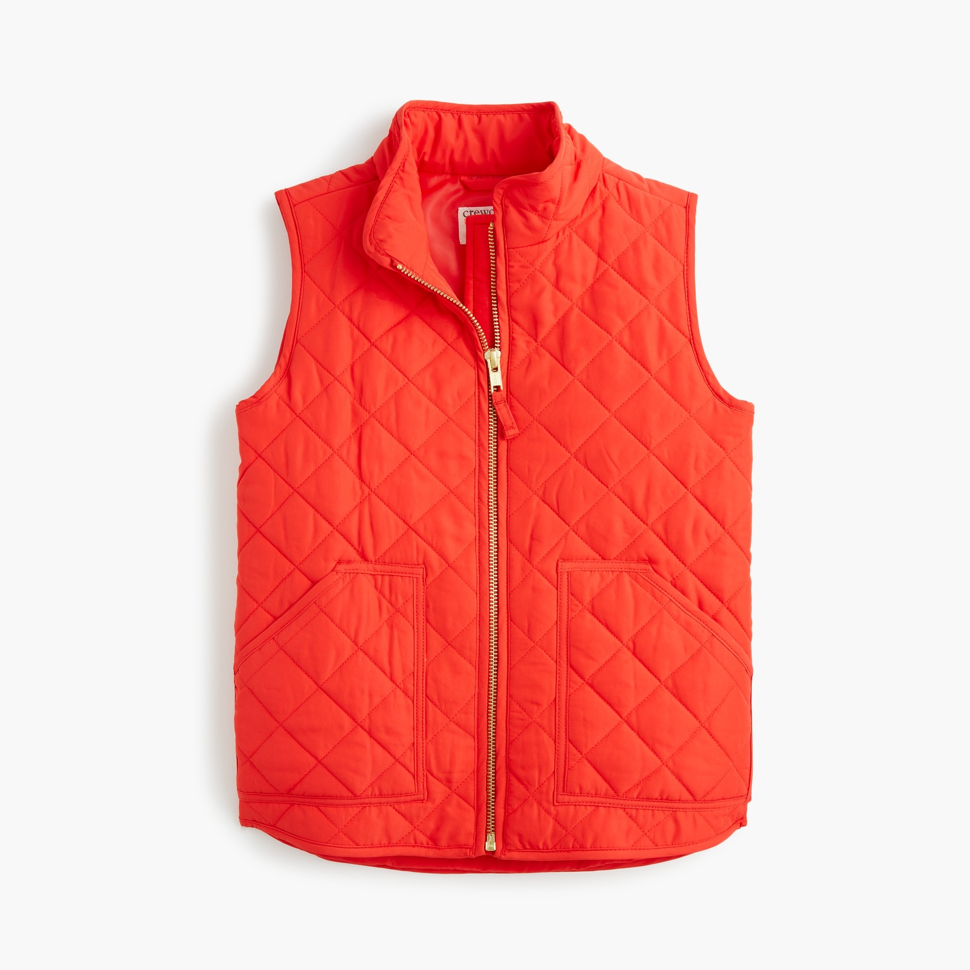 Girls' J.Crew Mercantile quilted vest