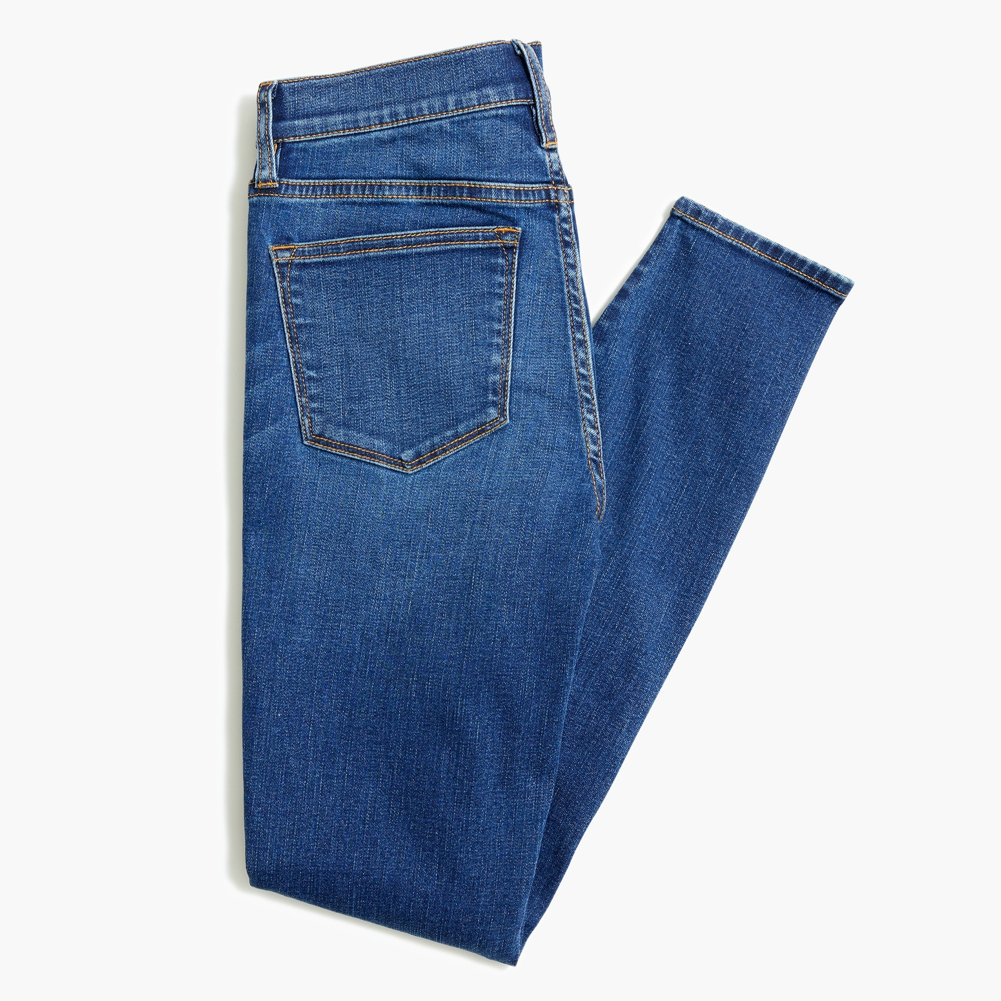 "8"" midrise skinny jean in Rockaway wash with 26"" inseam"
