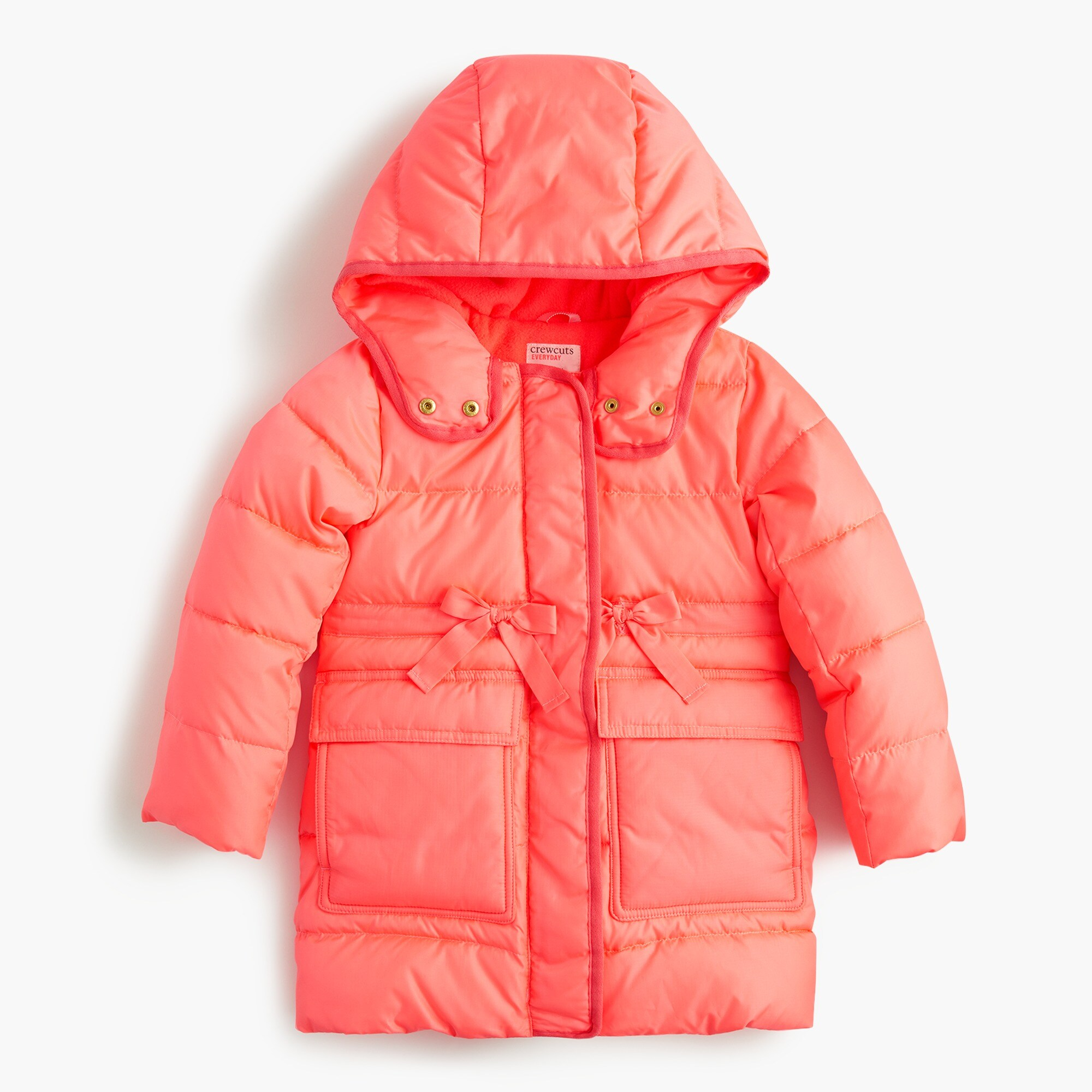 girls Girls' long puffer coat with Primaloft®