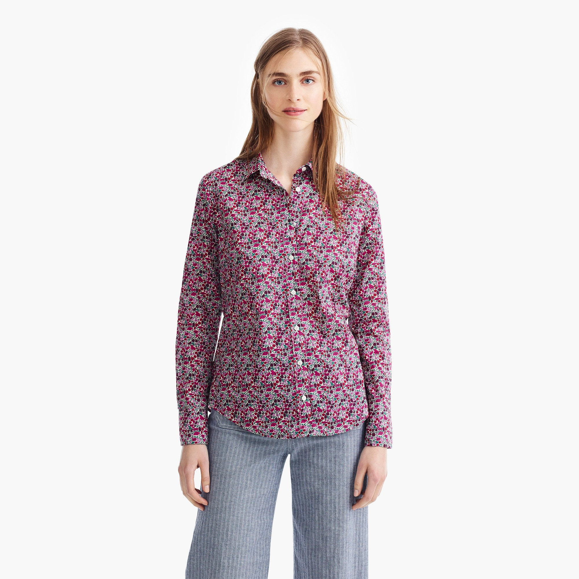 Image 3 for Slim perfect shirt in Liberty® floral