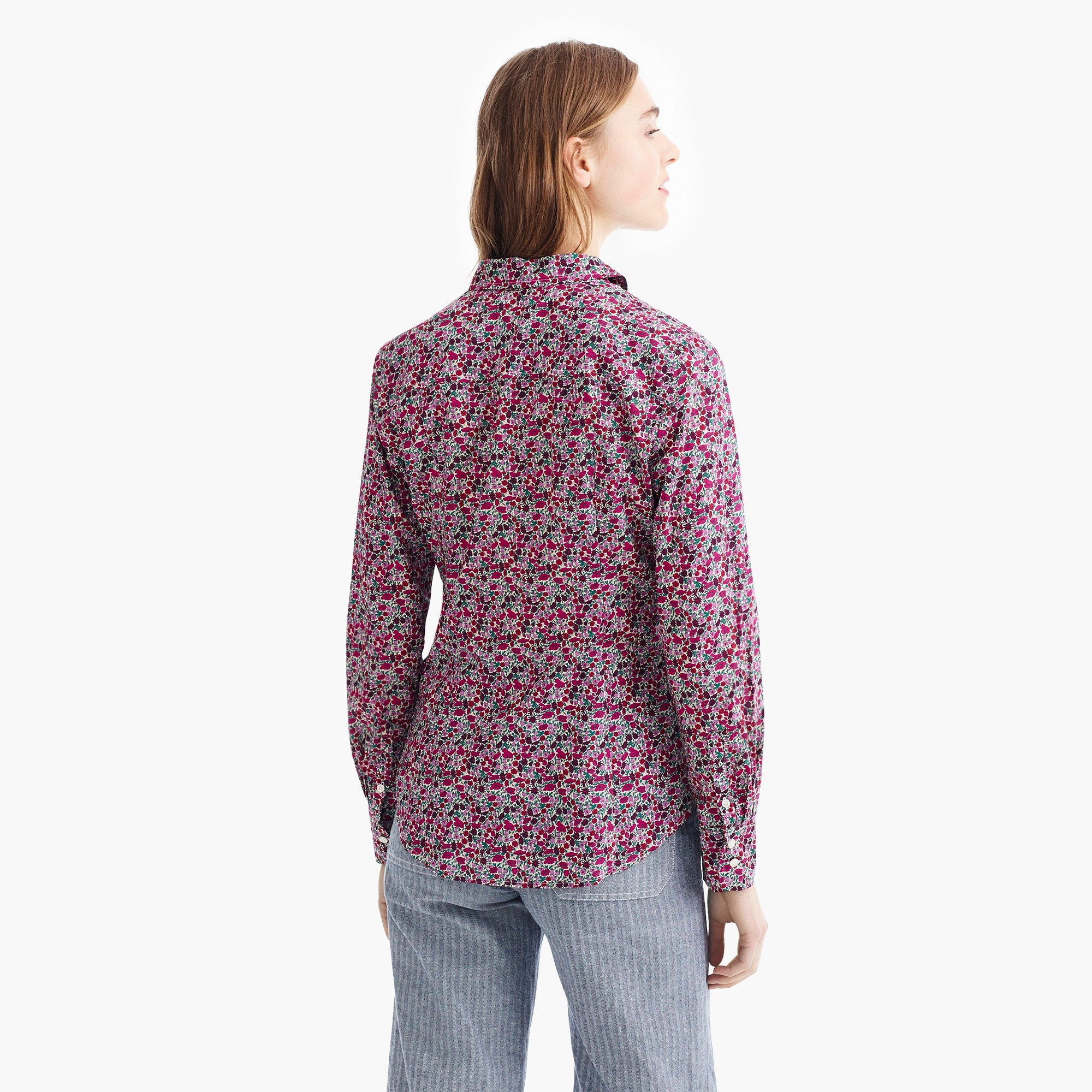 Slim perfect shirt in Liberty® floral