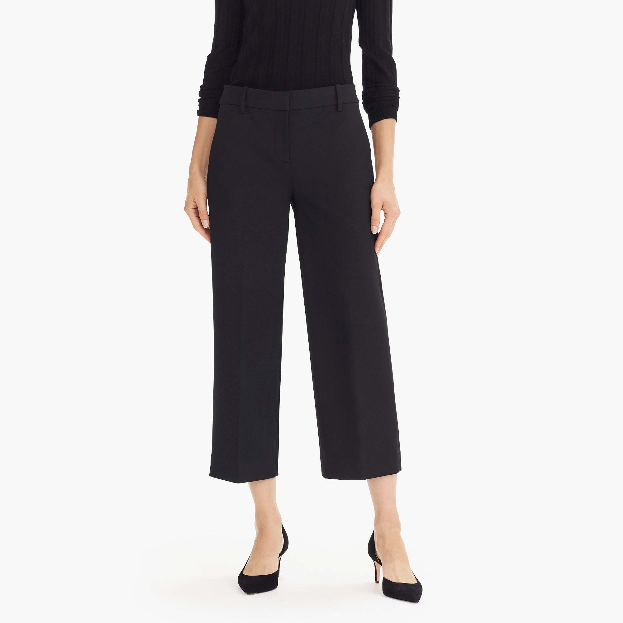 Image 4 for High-rise Peyton wide-leg pant in four-season stretch