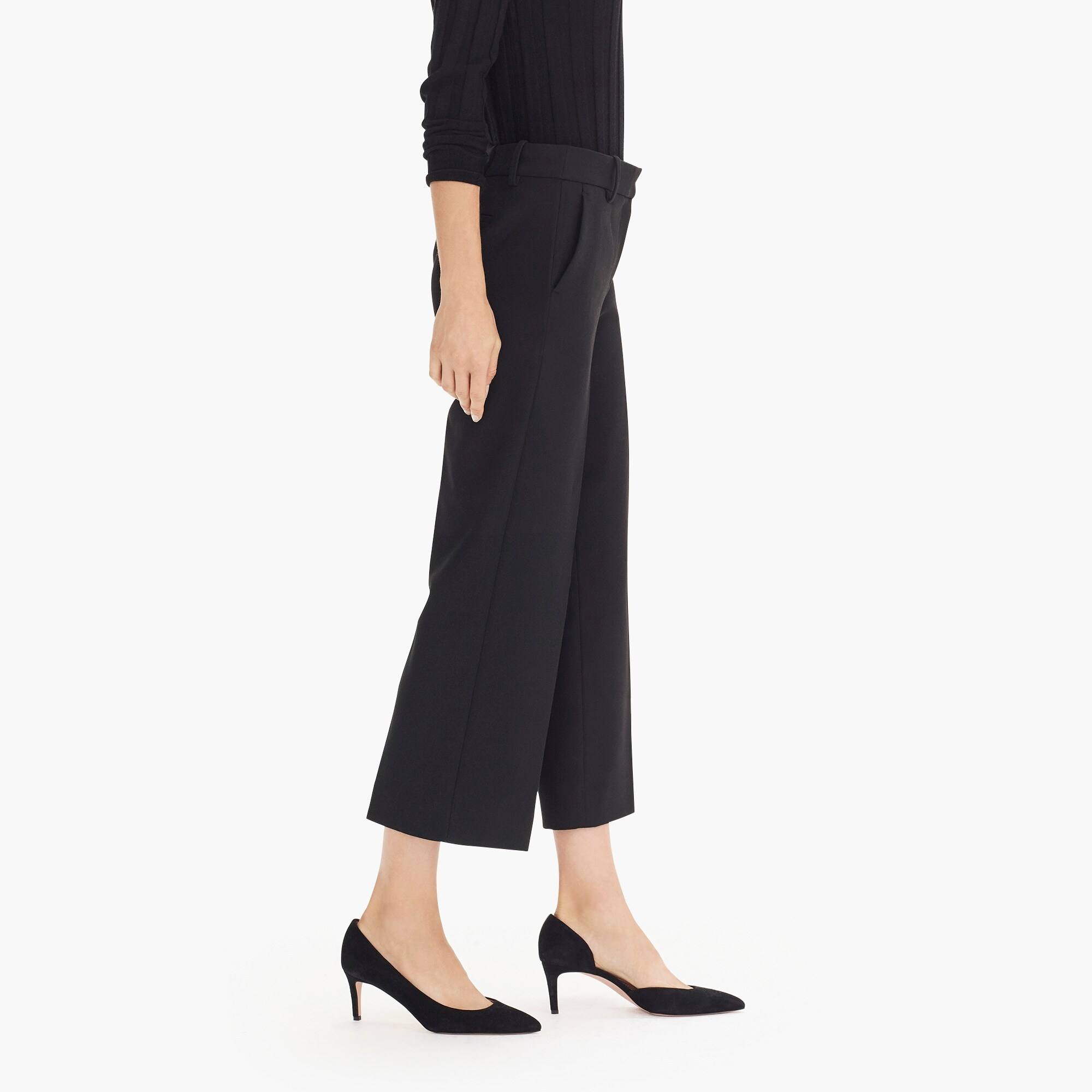 Image 5 for High-rise Peyton wide-leg pant in four-season stretch