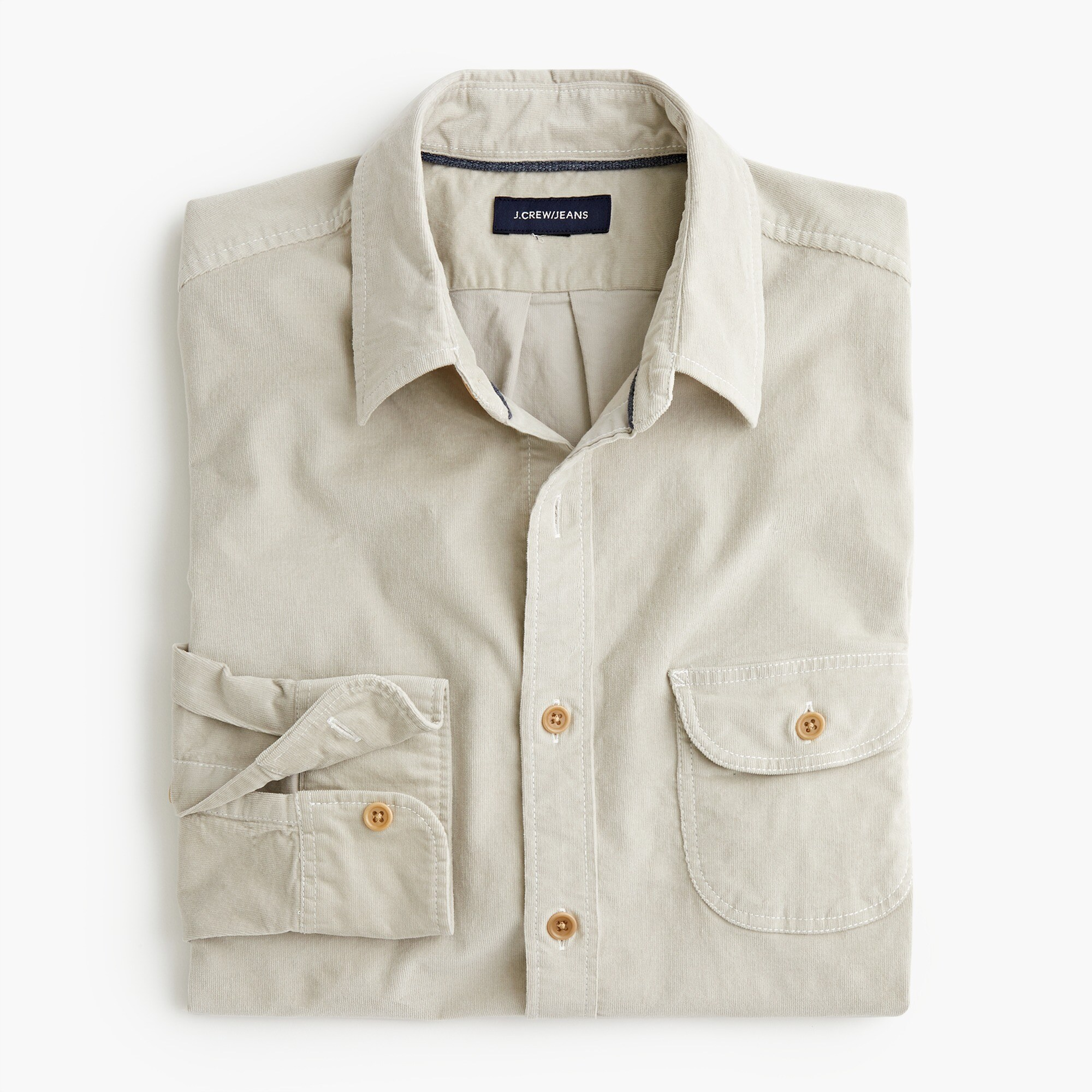 mens Stretch corduroy shirt