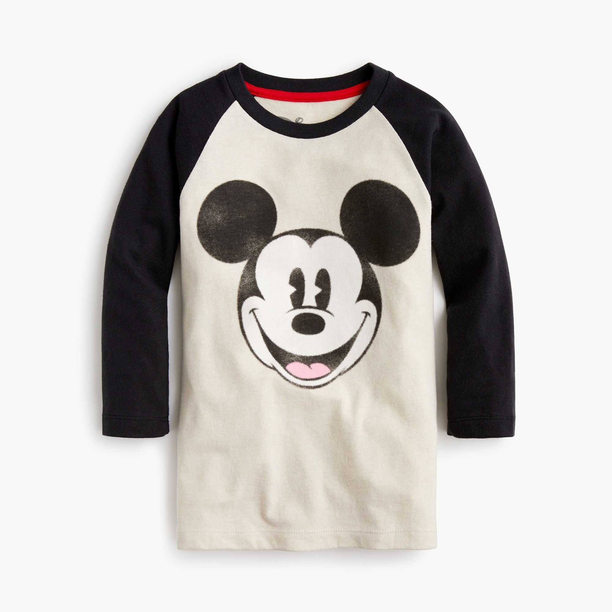 Kids' Disney® for crewcuts Mickey Mouse baseball T-shirt boy graphics shop c