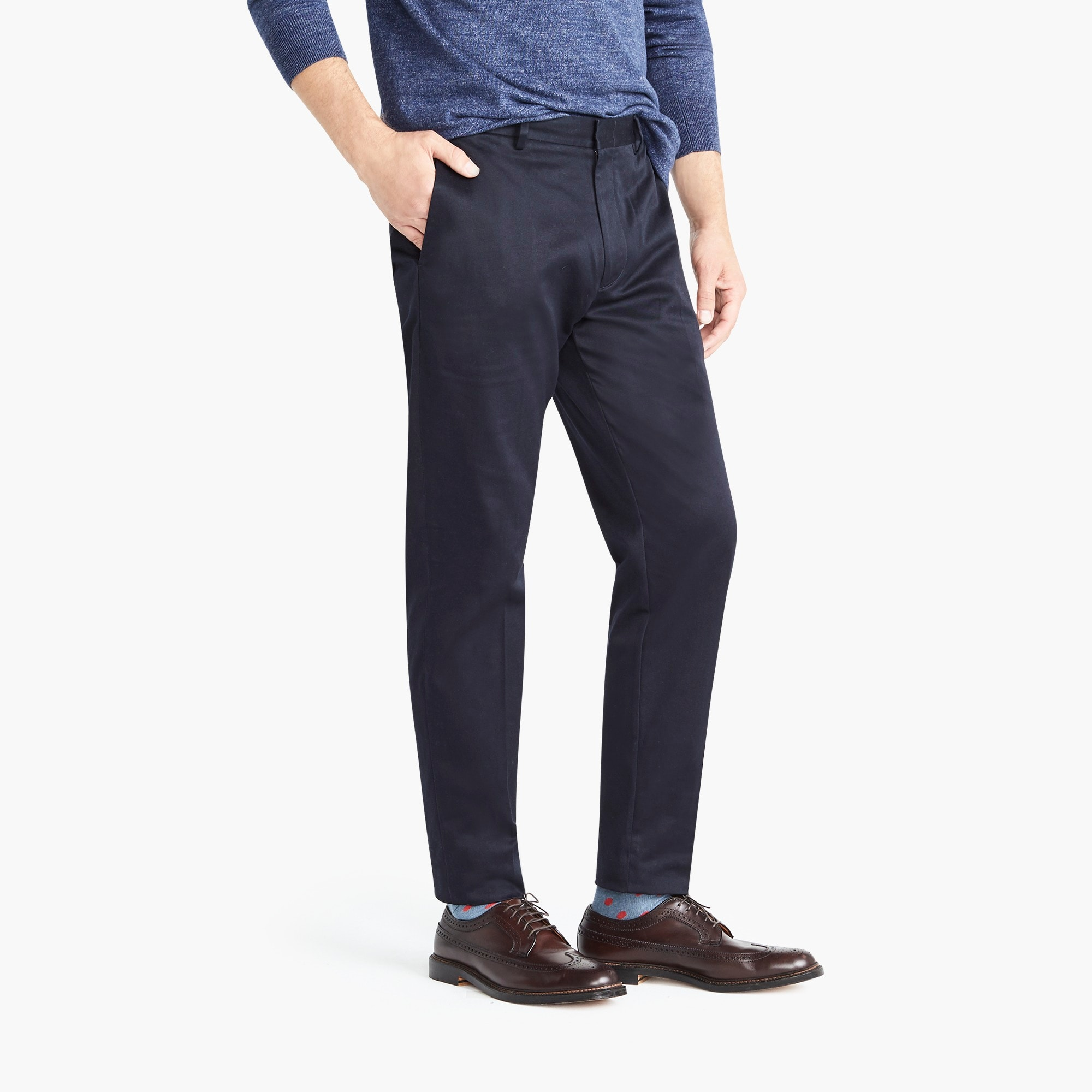 Image 3 for Ludlow Classic-fit pant in stretch chino