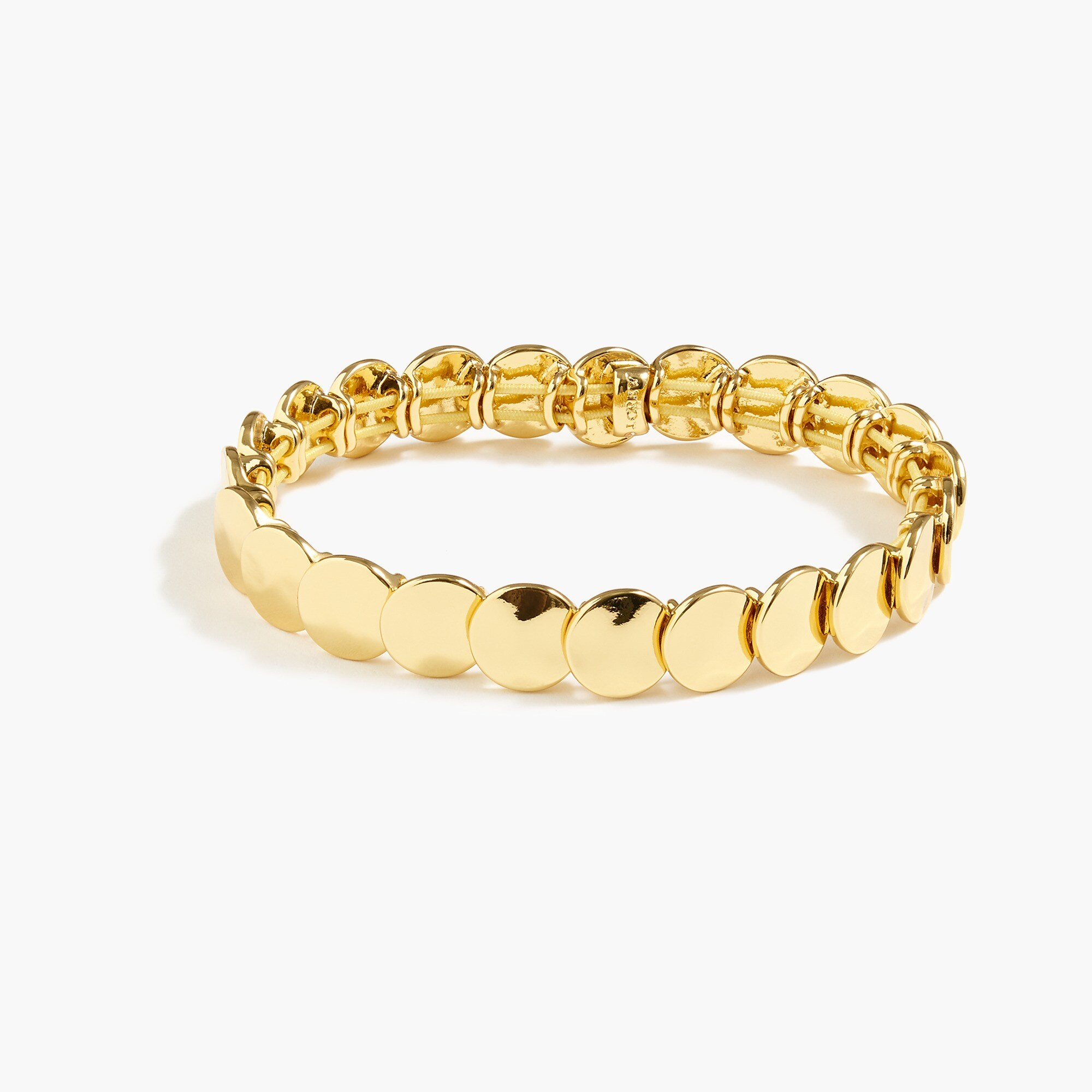 Stacked circle stretch bracelet