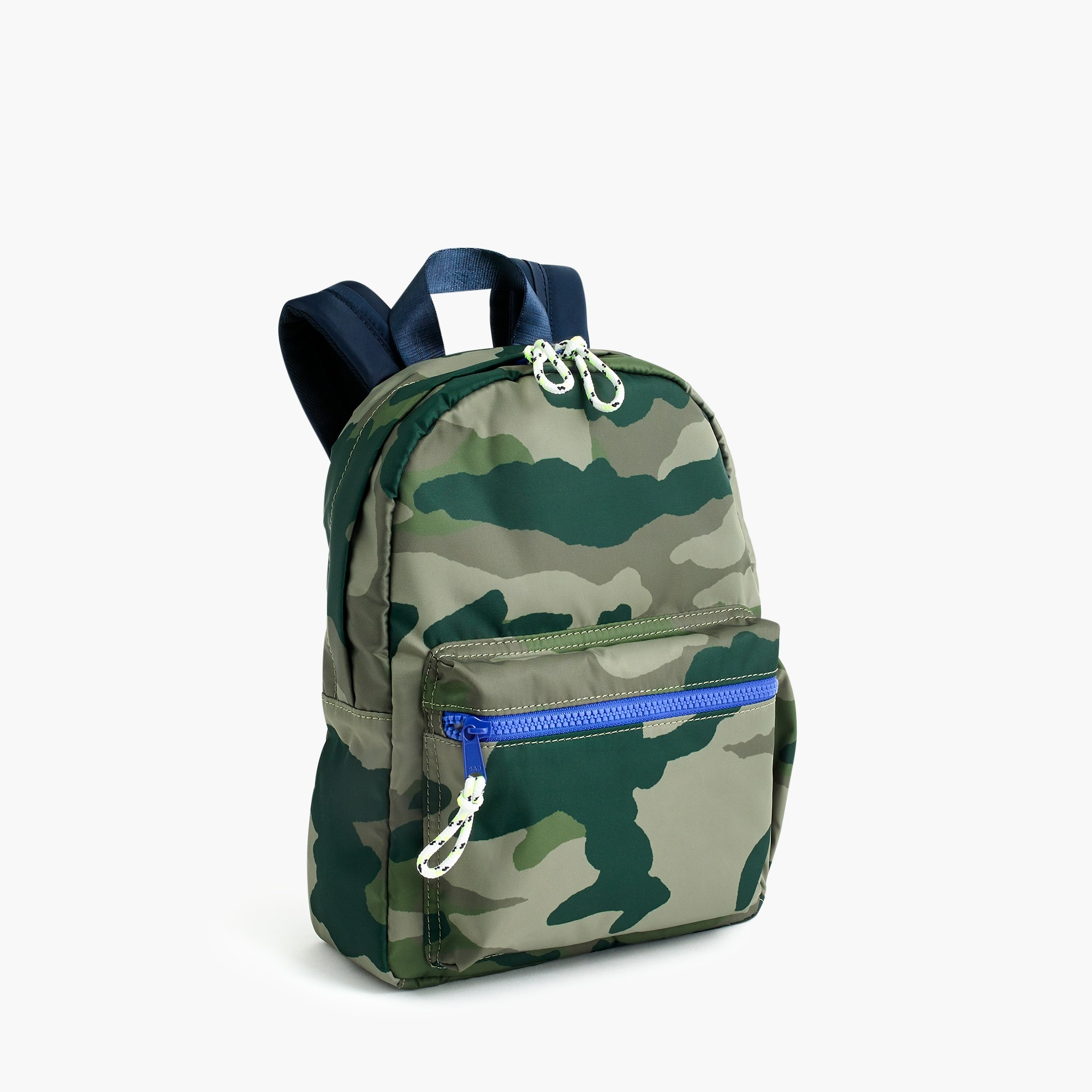 girls Kids' camo-print mini backpack