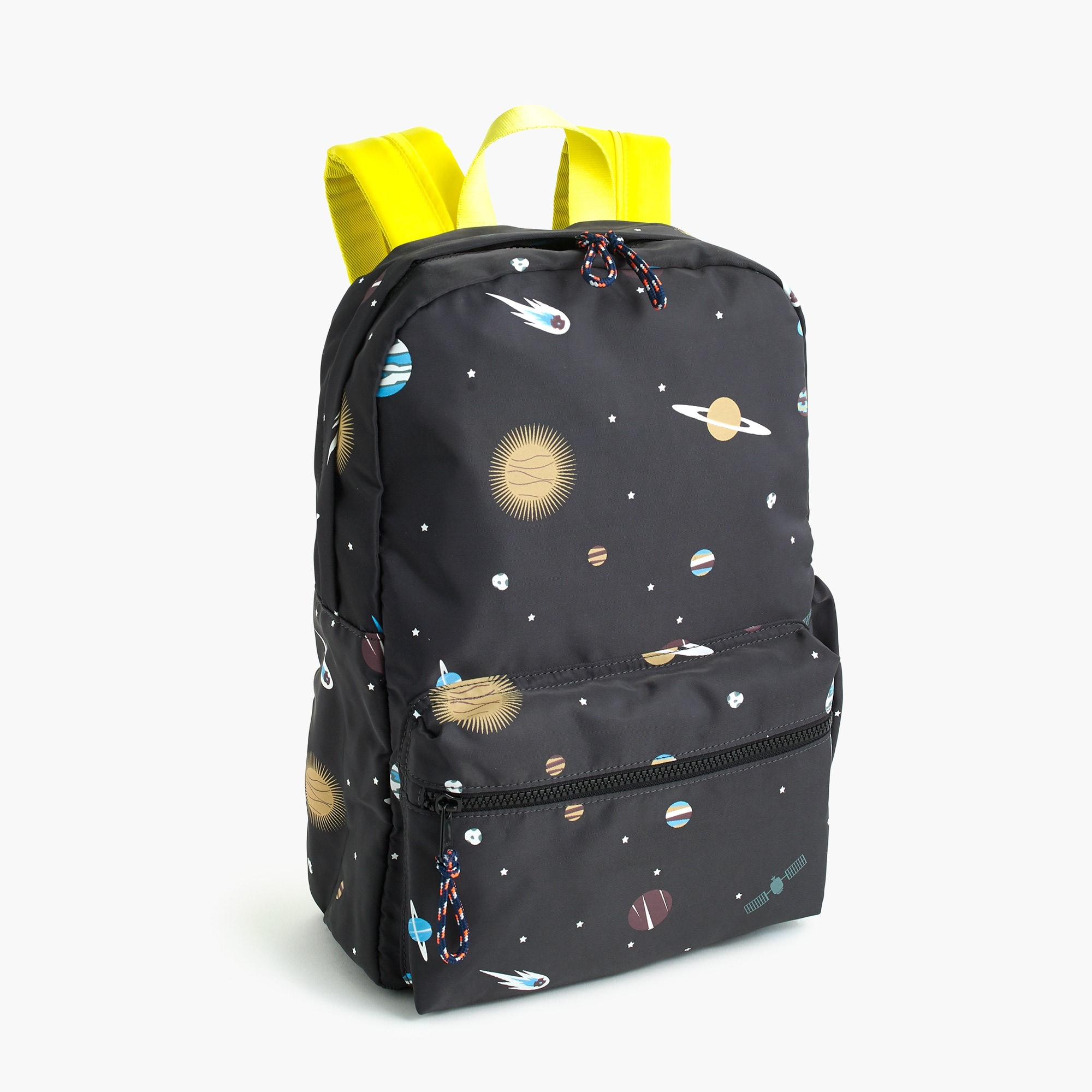 Kids' glow-in-the-dark space-print backpack boy new arrivals c