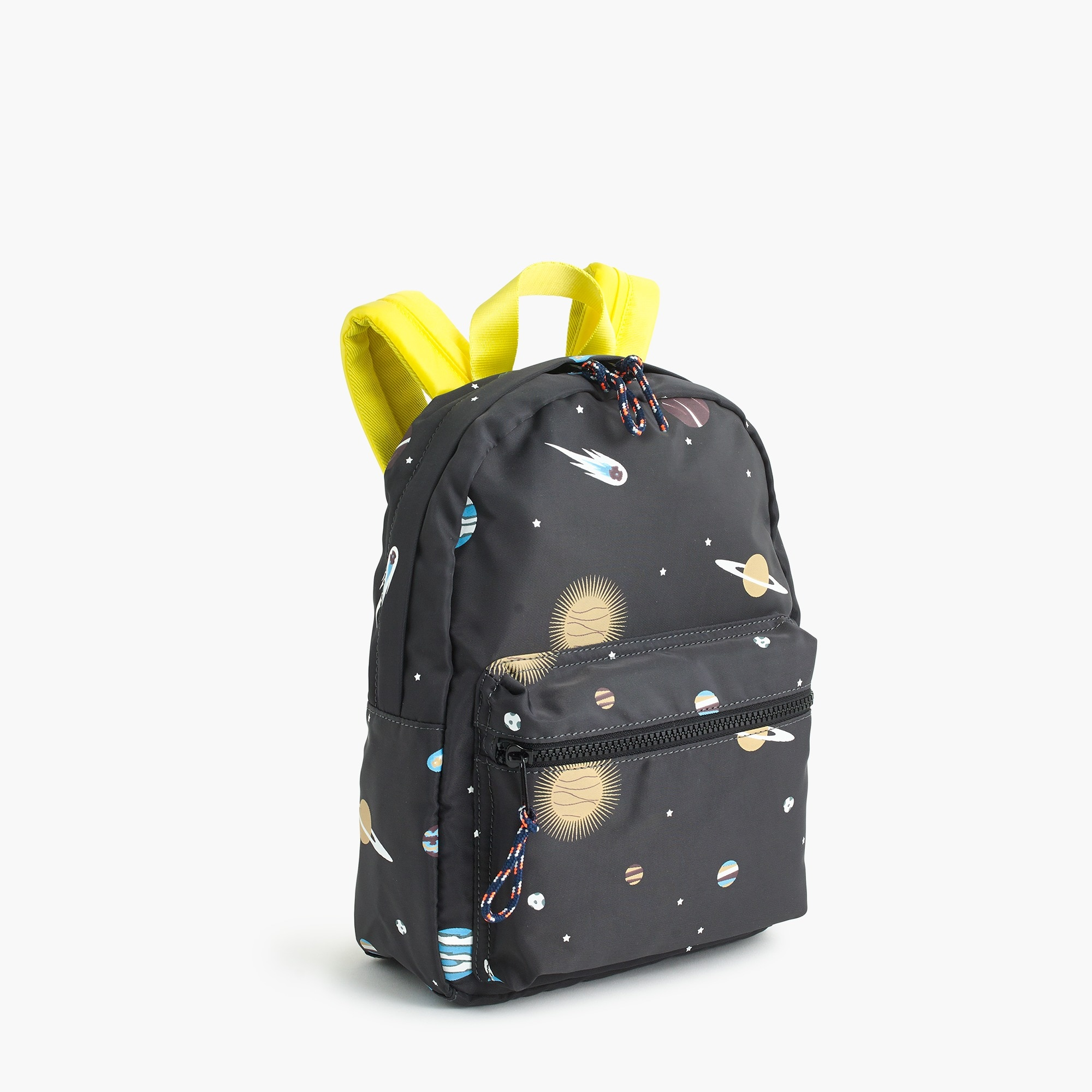 Kids' glow-in-the-dark space-print mini backpack boy new arrivals c