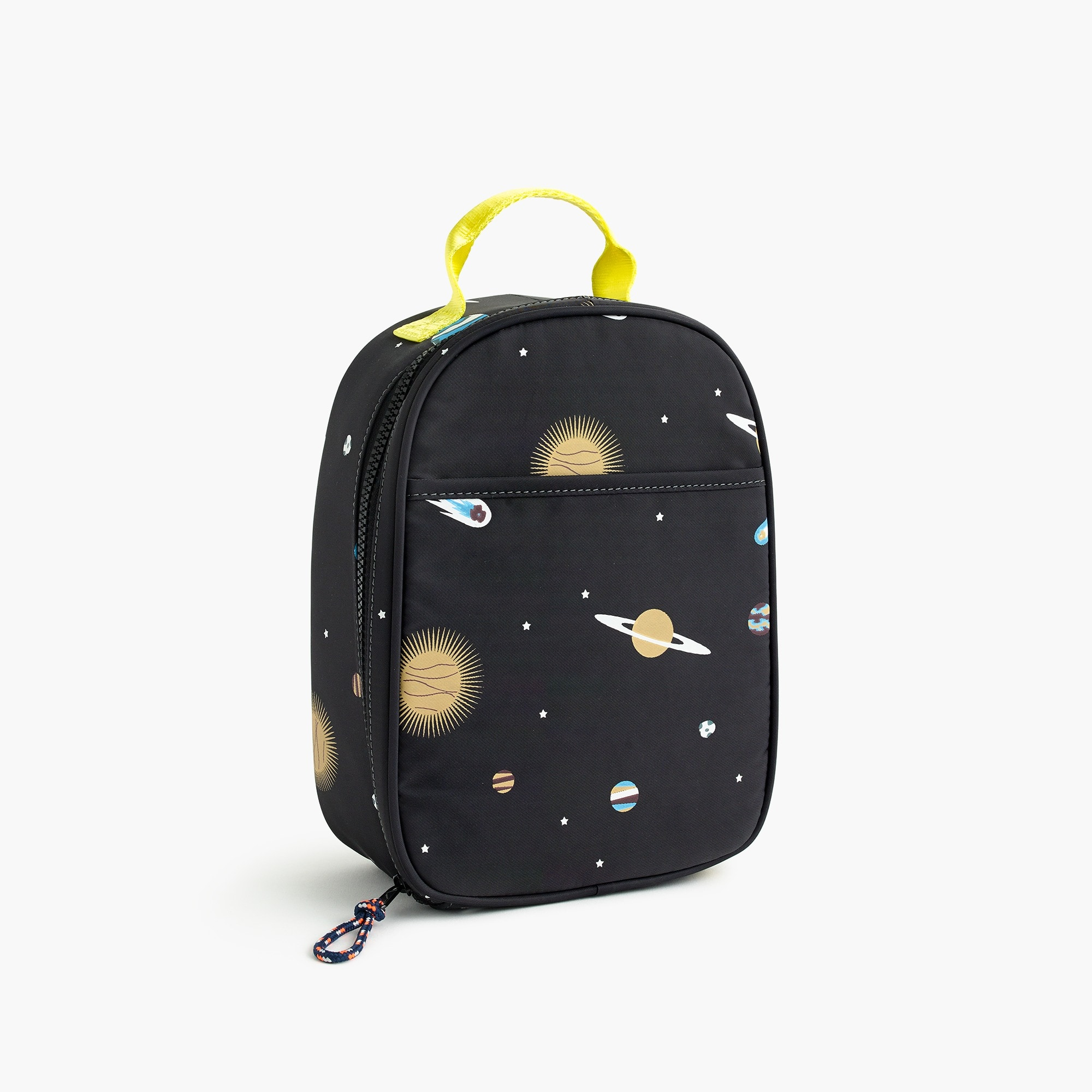 girls Kids' glow-in-the-dark space-print lunch box