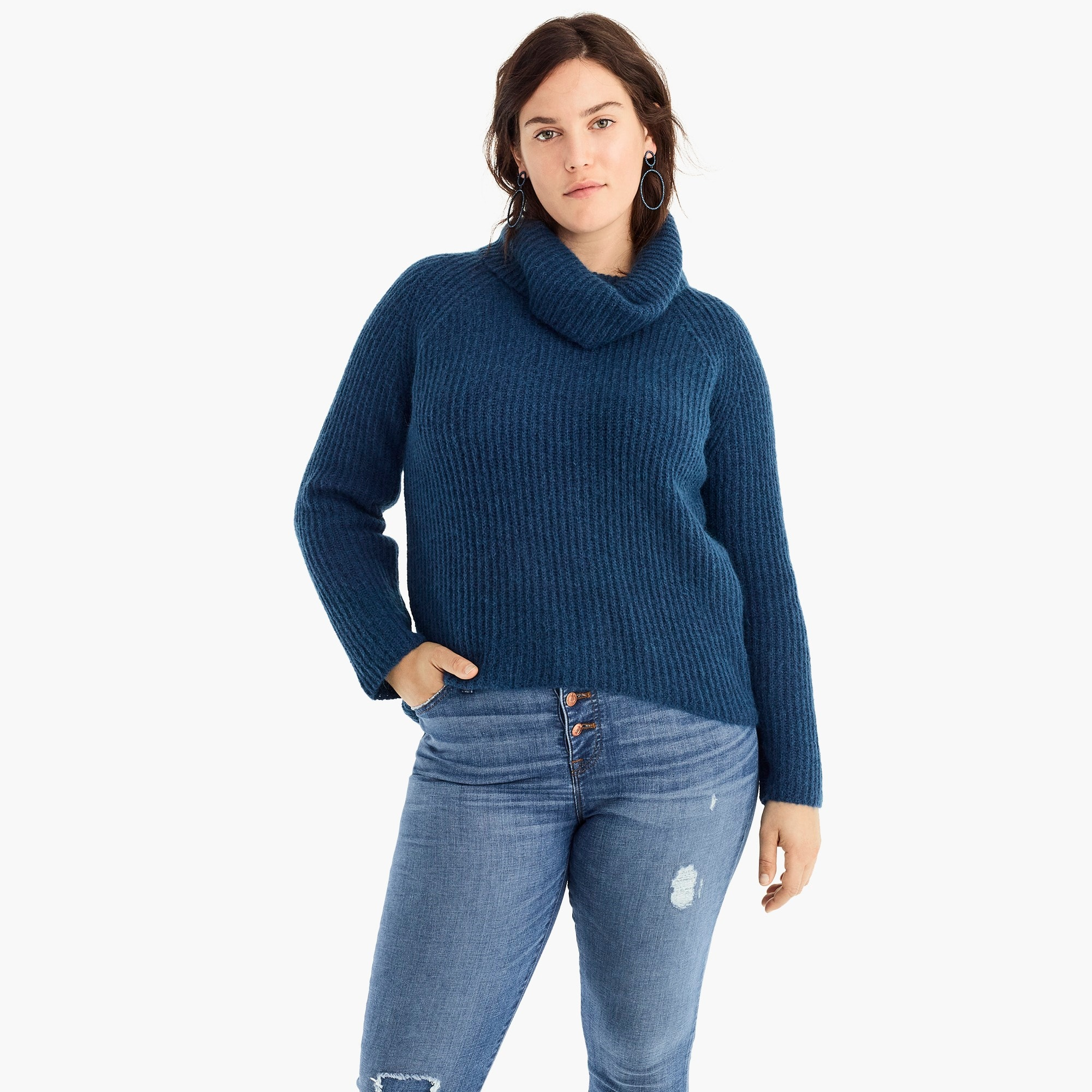 Image 3 for Point Sur ribbed turtleneck sweater