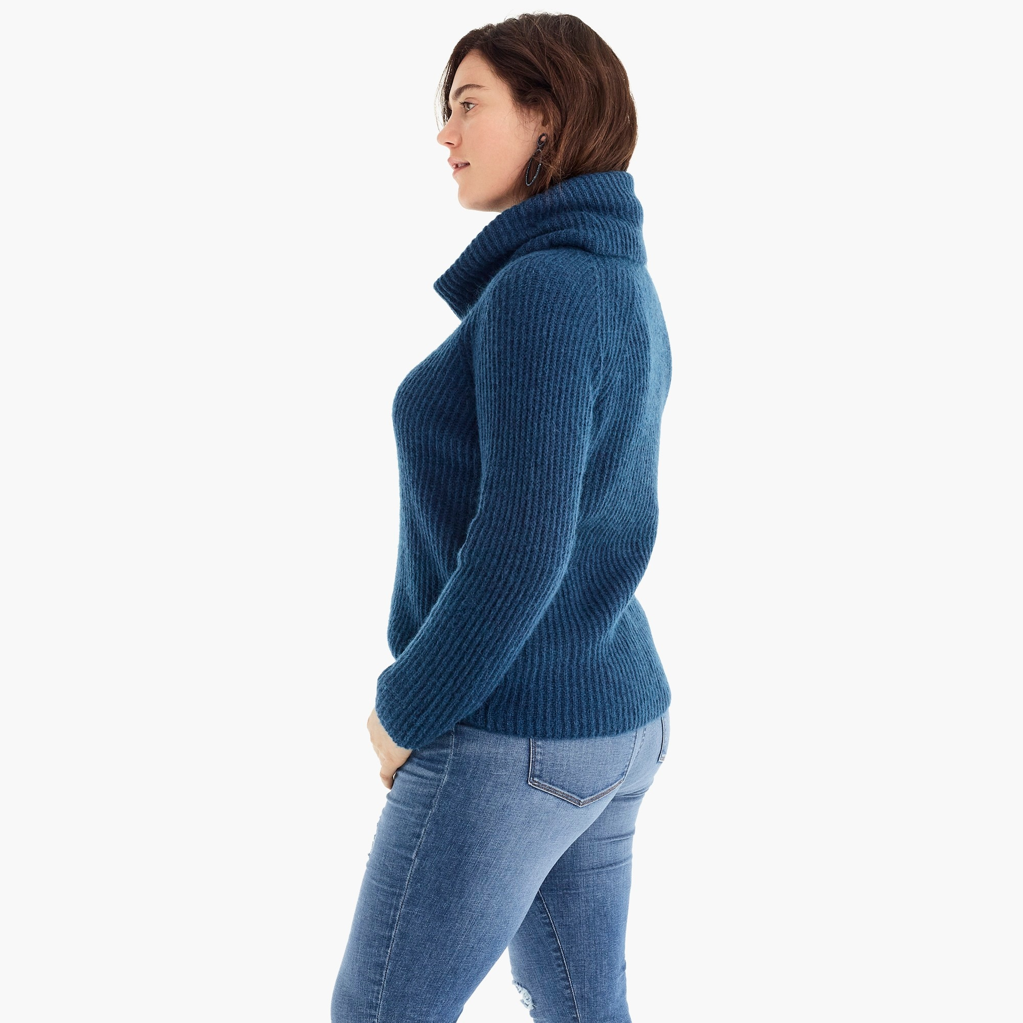 Image 4 for Point Sur ribbed turtleneck sweater
