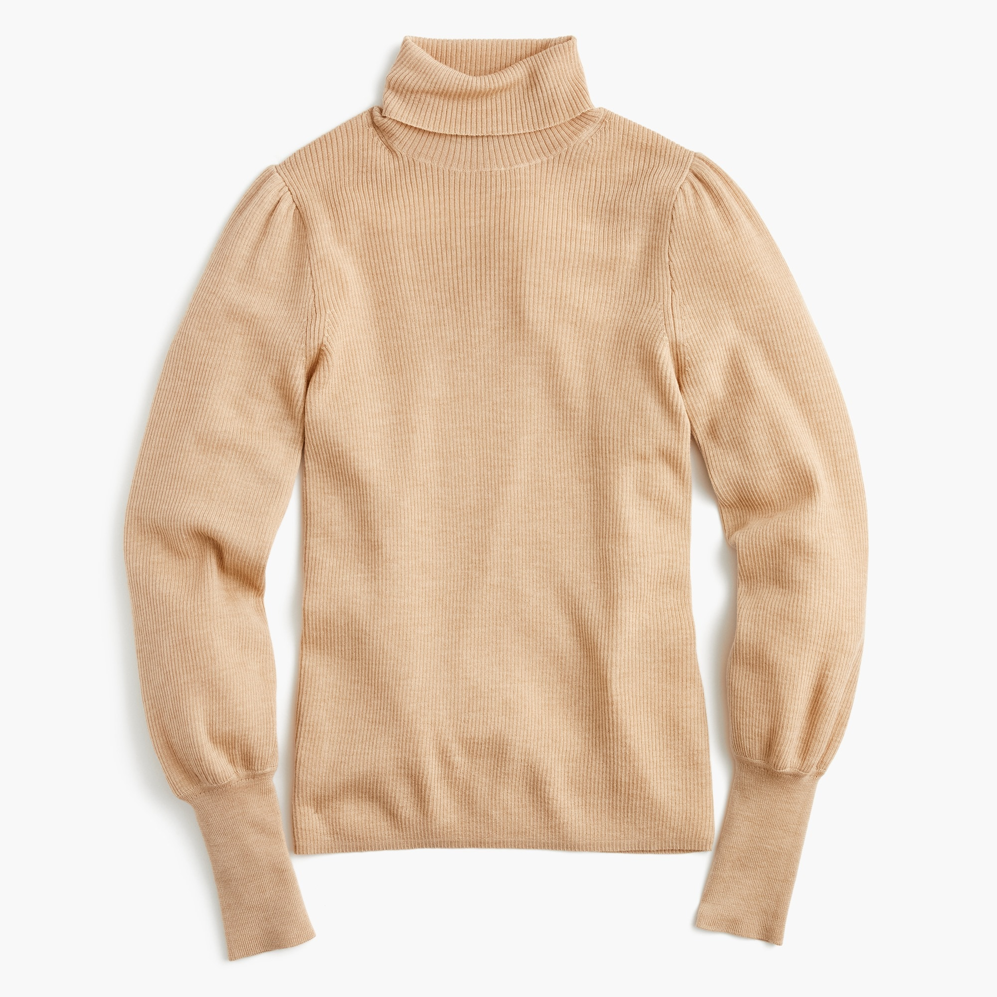 Image 1 for Balloon-sleeve turtleneck sweater