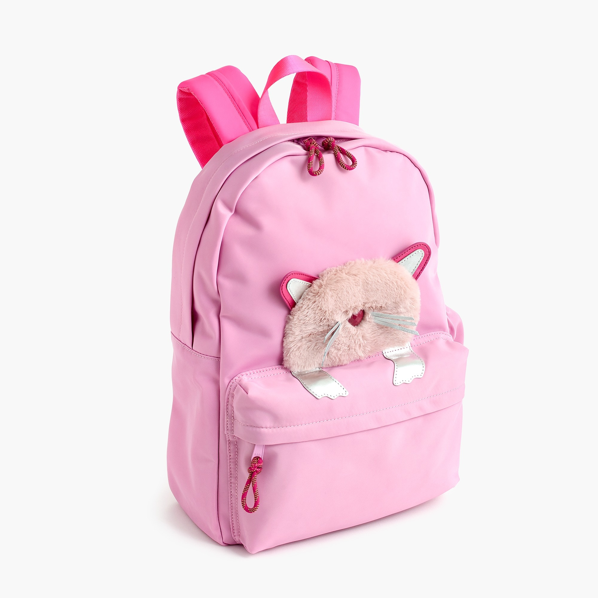 girls Girls' peekaboo kitty backpack