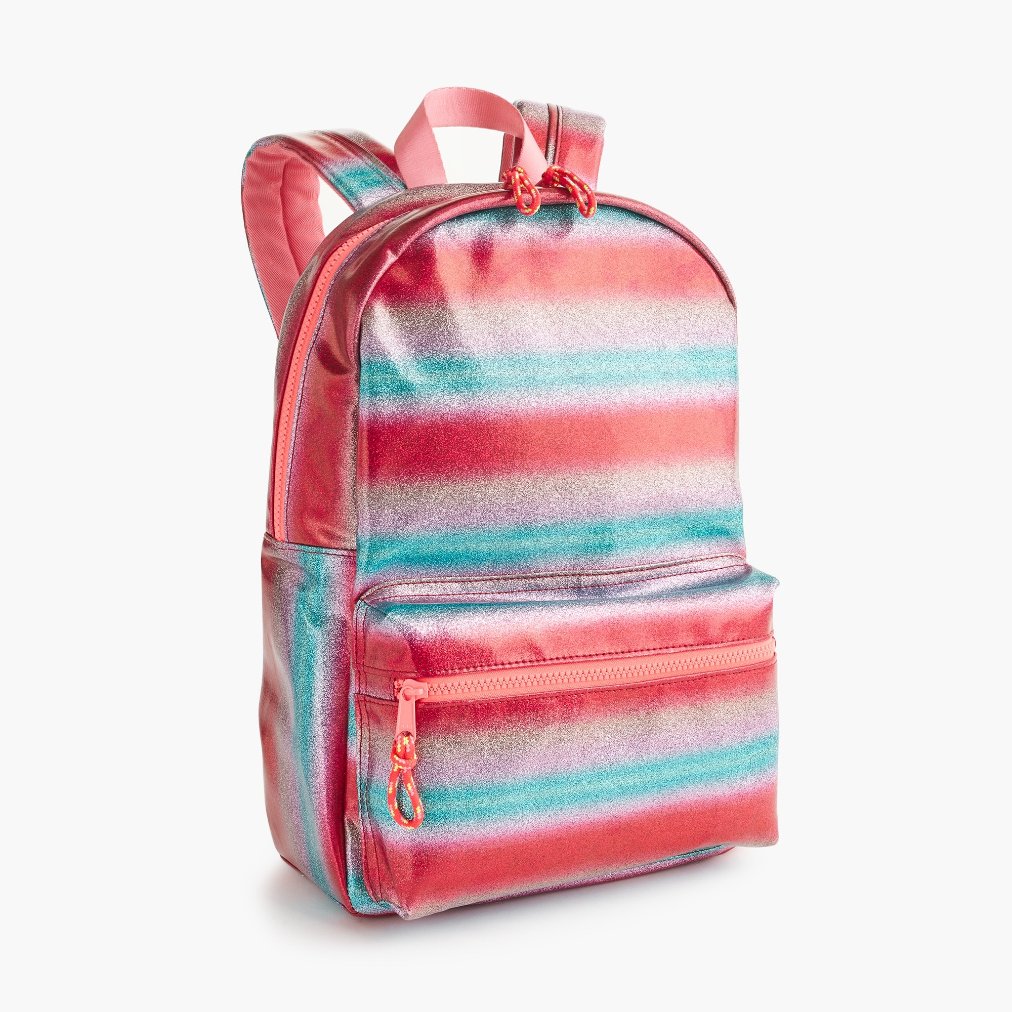 girls Girls' sparkle-striped backpack