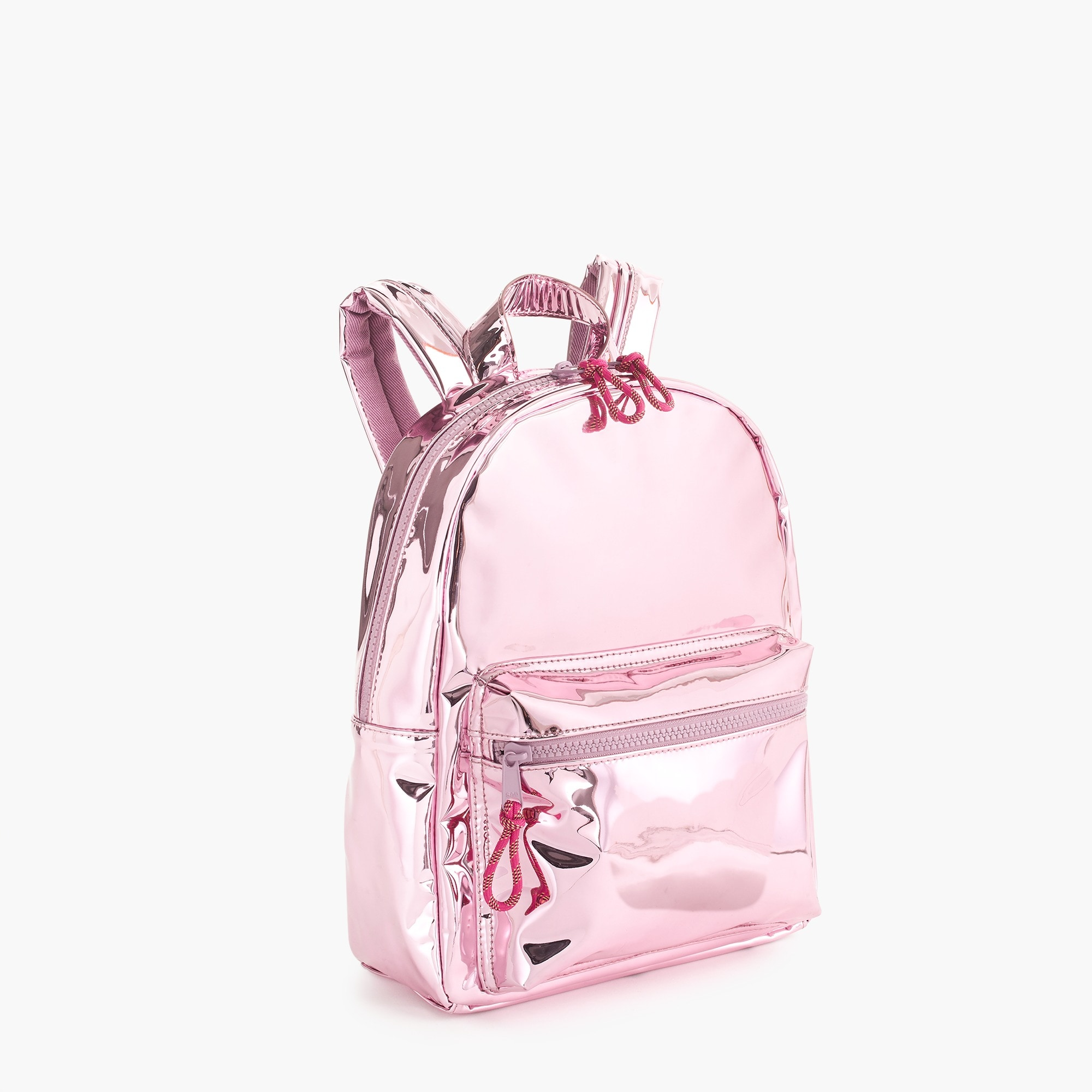 girls Girls' metallic mini backpack