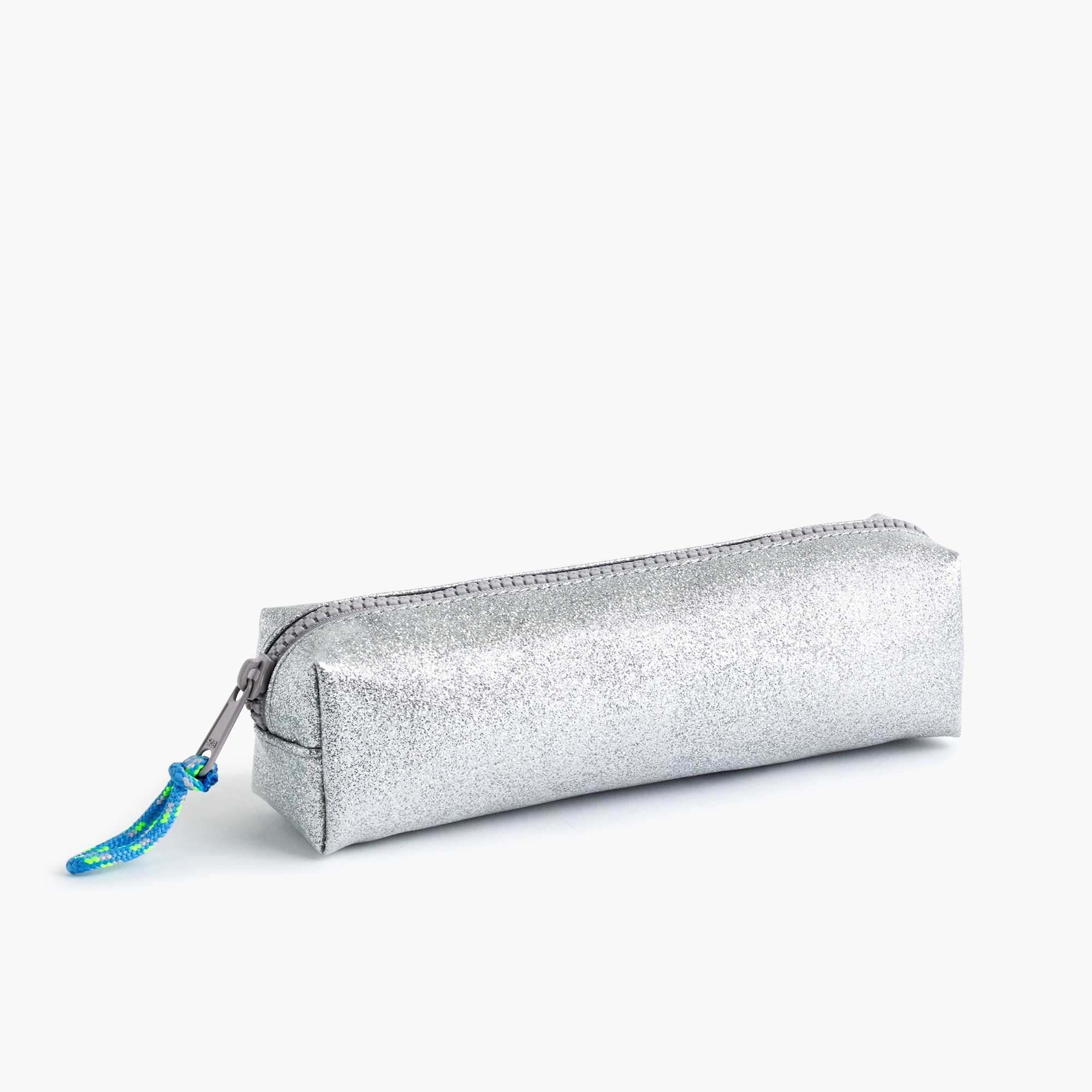 Girls' glitter pencil case