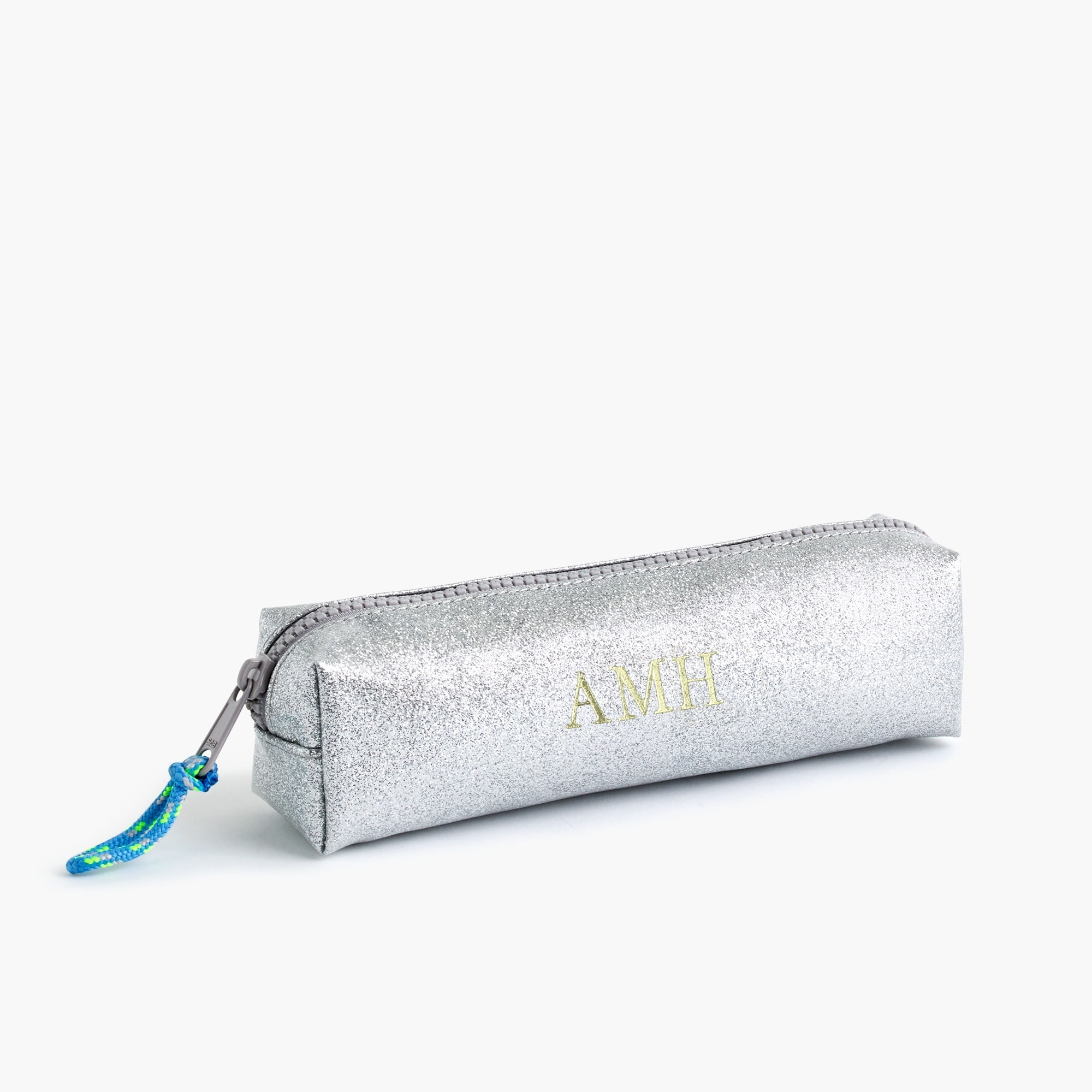 Image 1 for Girls' glitter pencil case
