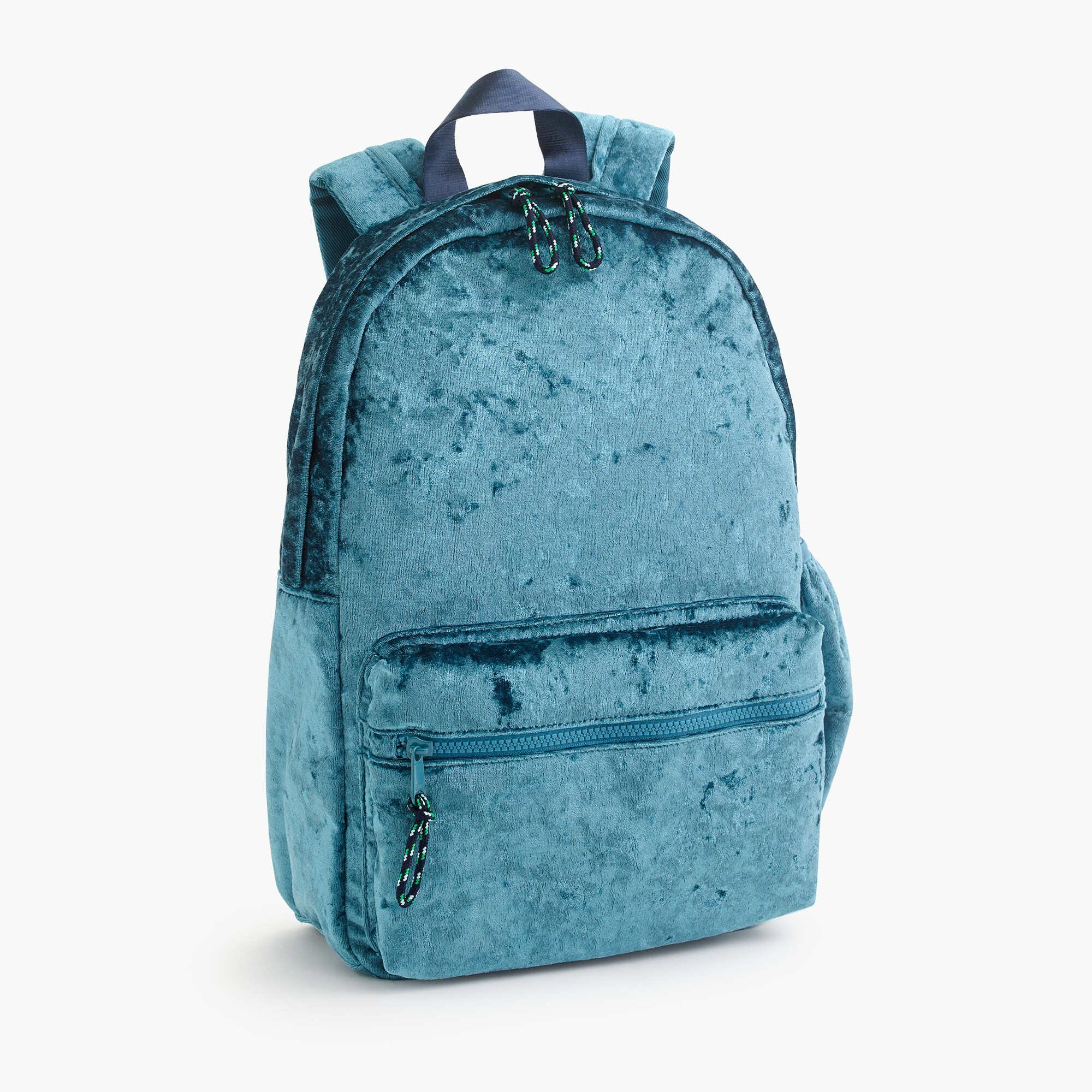 girls Girls' crushed velvet backpack