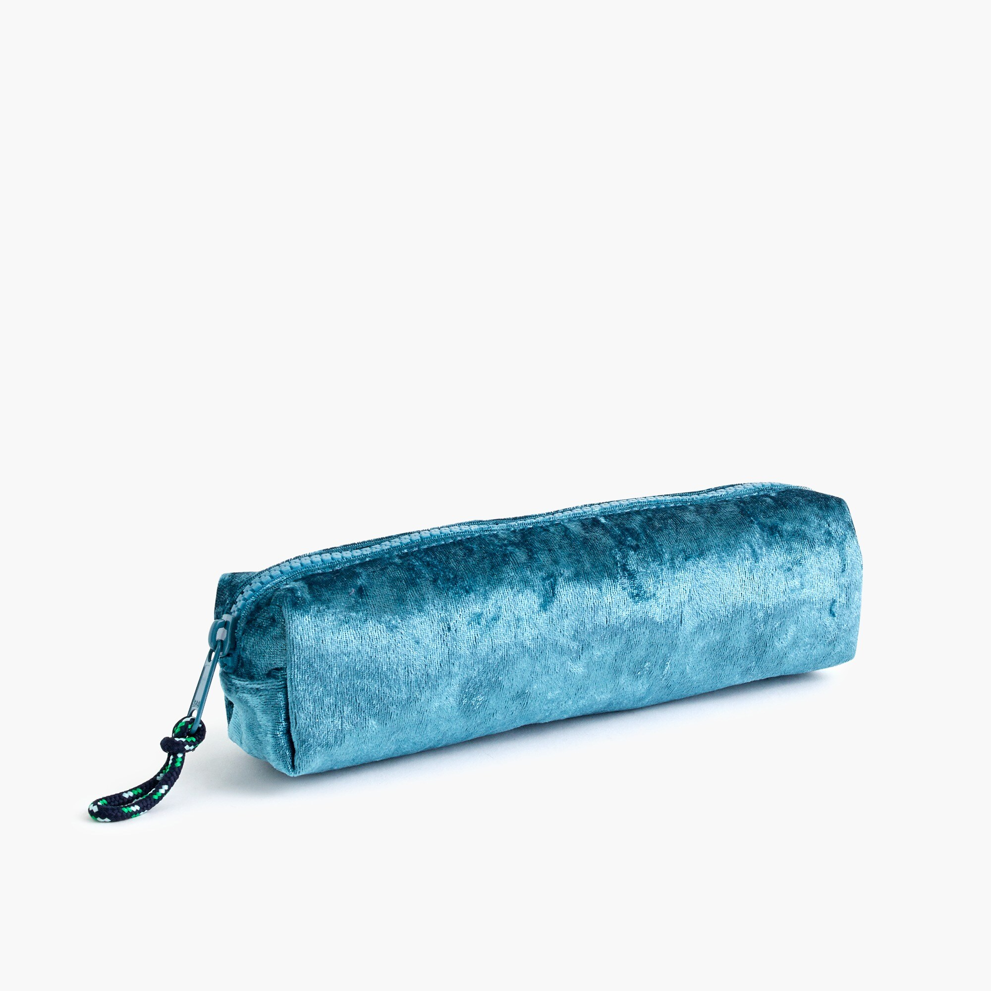 girls Girls' crushed velvet pencil case