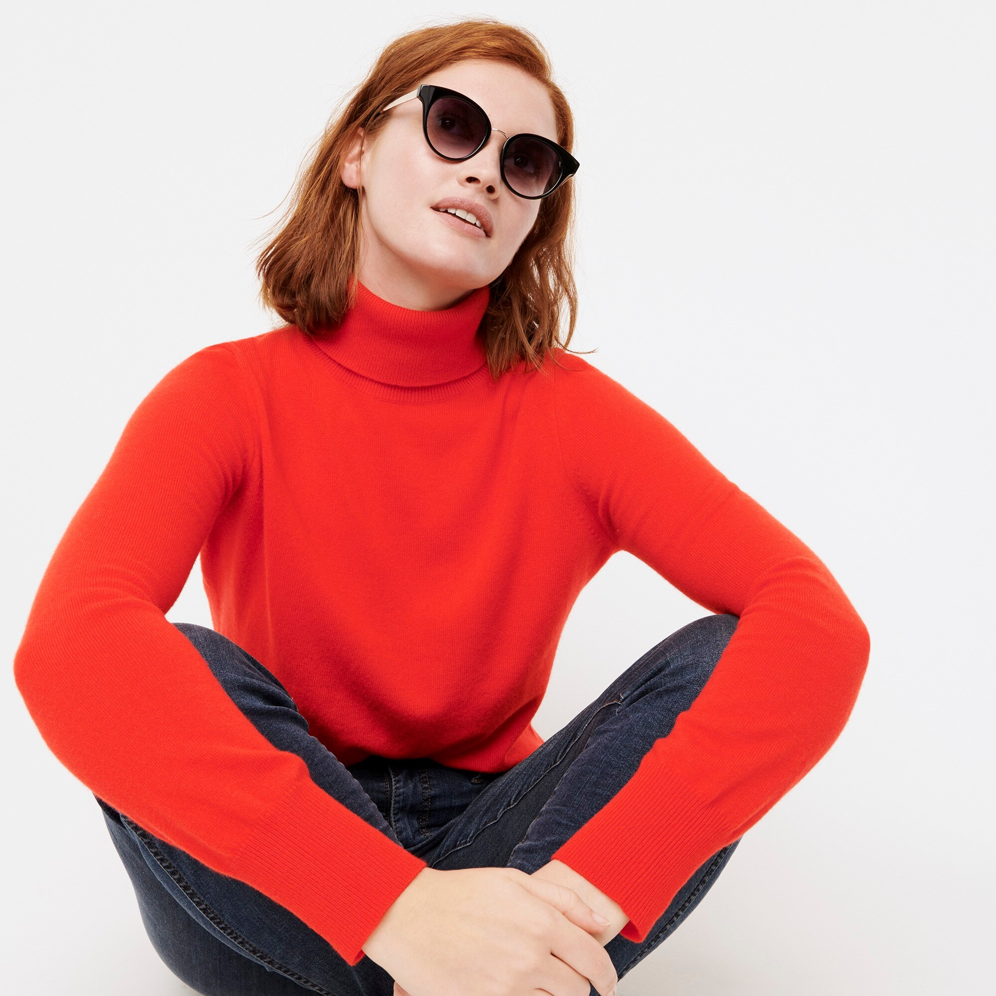womens Everyday cashmere turtleneck sweater