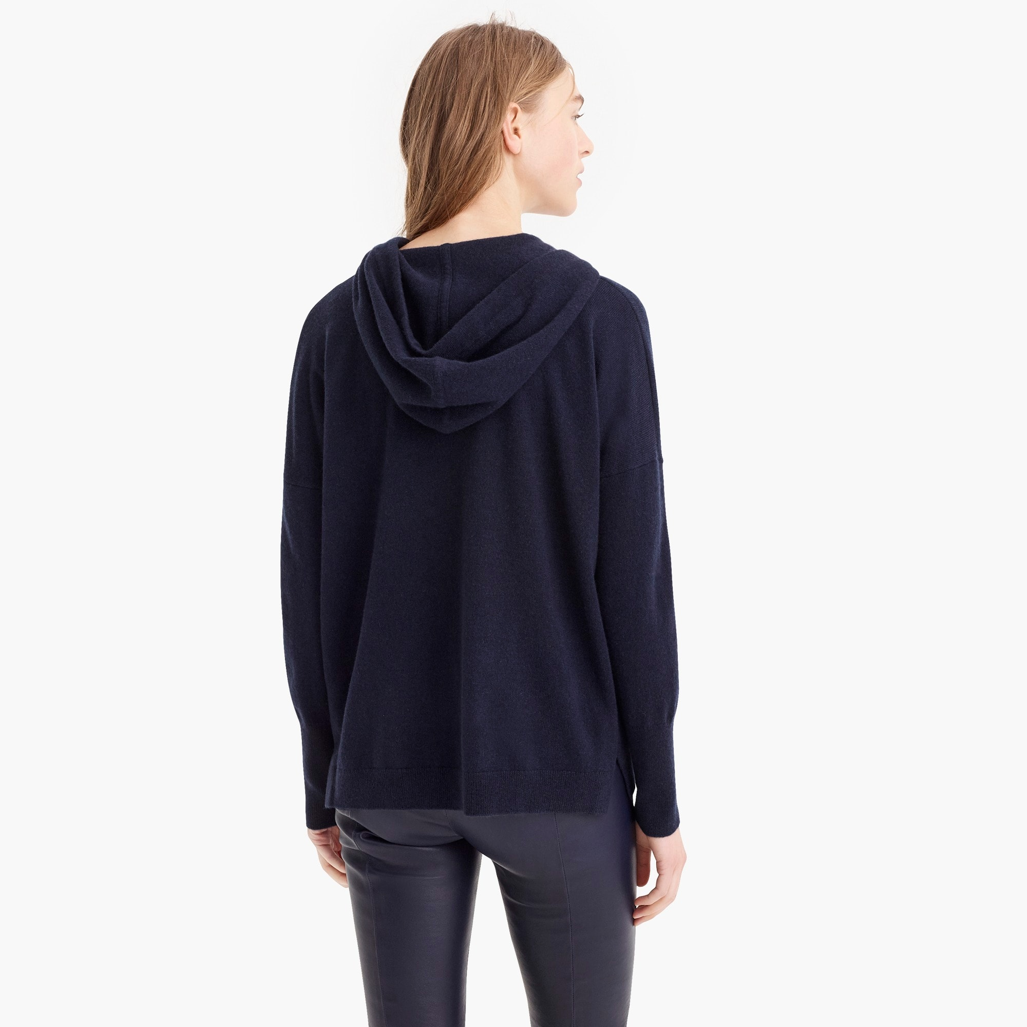 Everyday cashmere pullover hoodie sweater