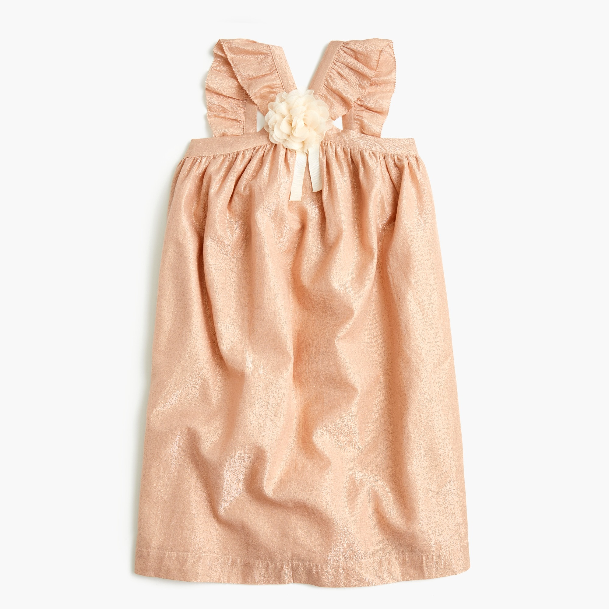 girls Girls' ruffle-strap dress