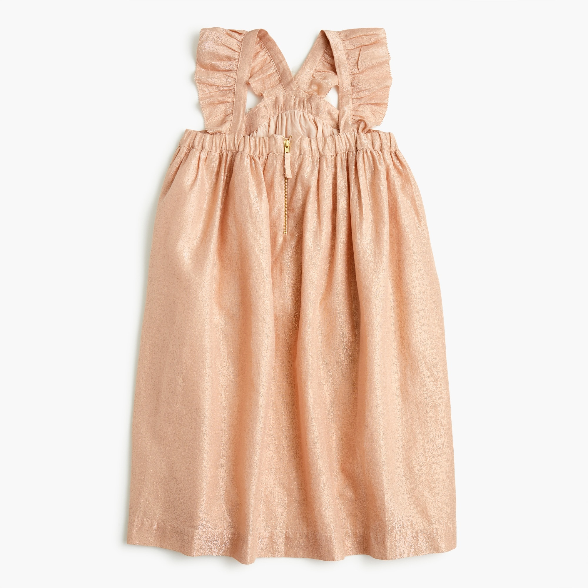 Image 3 for Girls' ruffle-strap dress