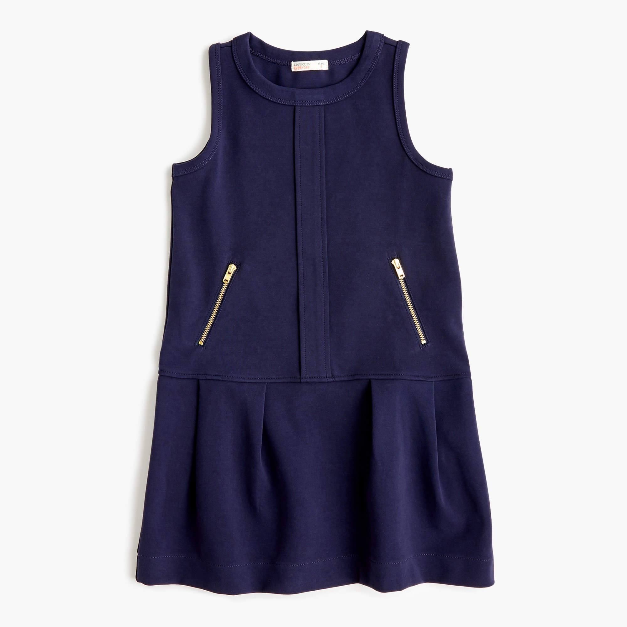 Girls' ponte jumper