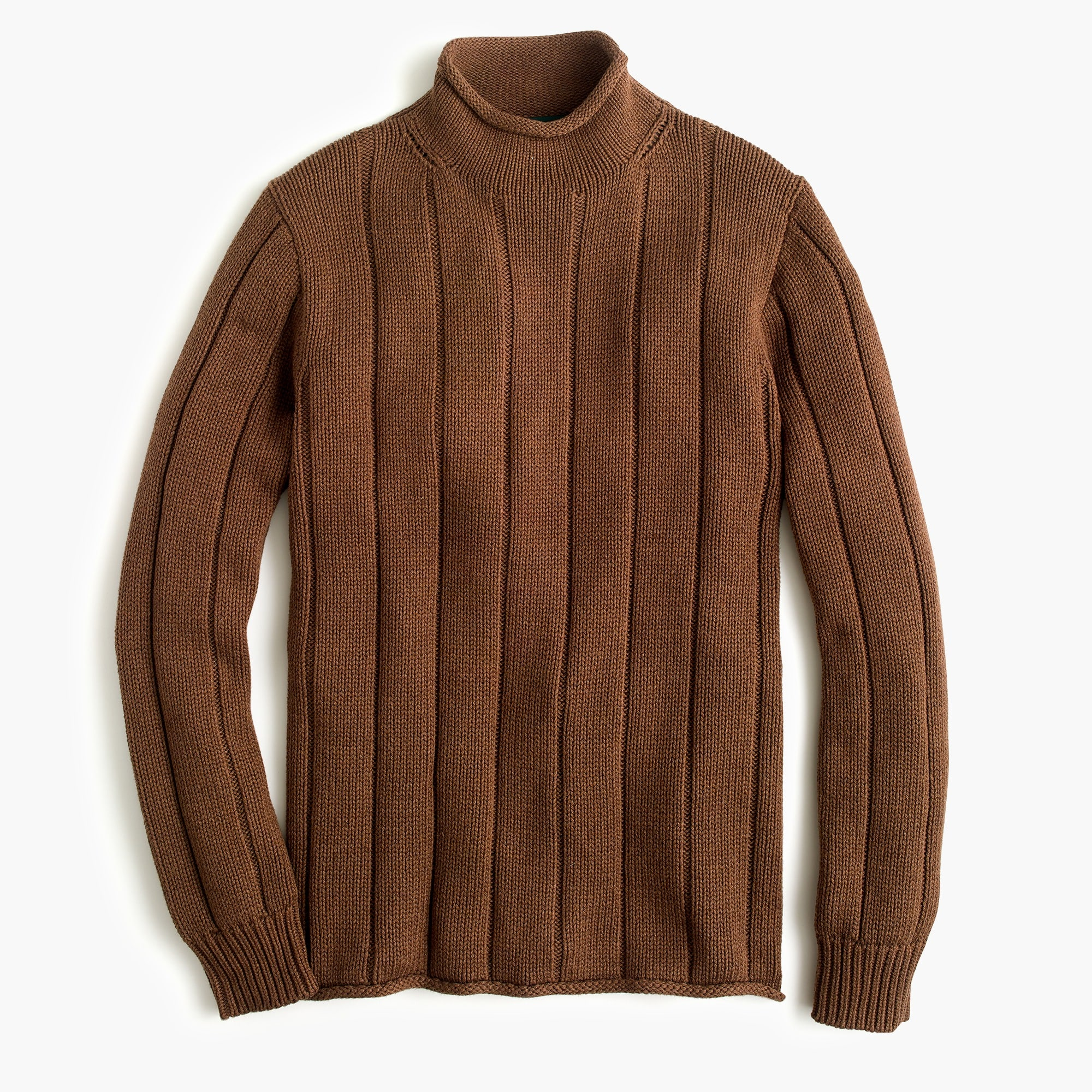 Image 1 for 1988 rollneck™ sweater in ribbed cotton