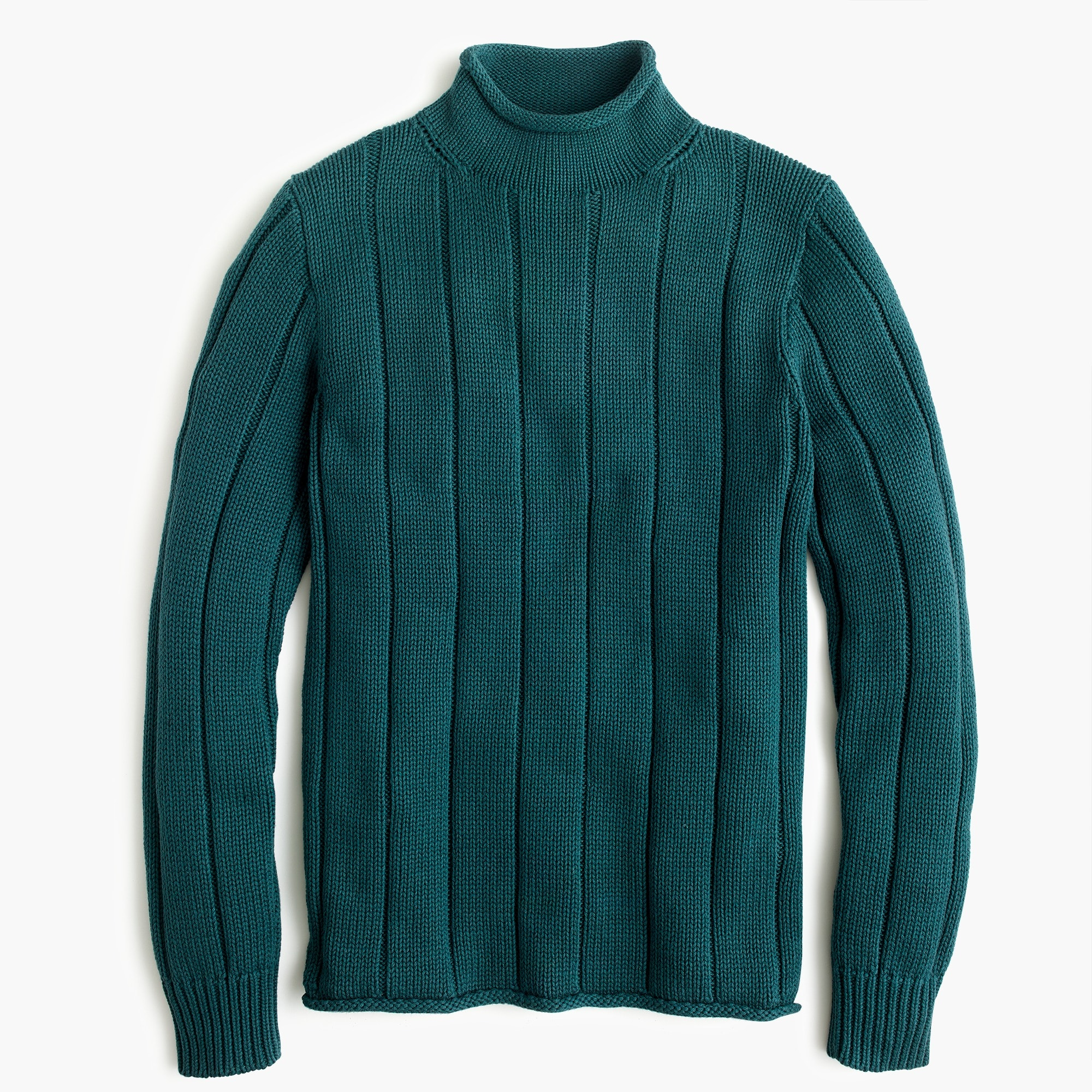 Image 4 for 1988 rollneck™ sweater in ribbed cotton