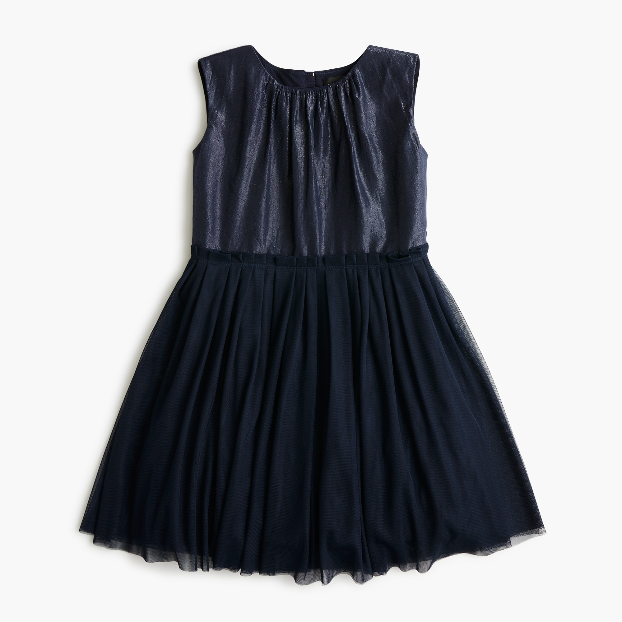 girls Girls' tulle-skirted dress