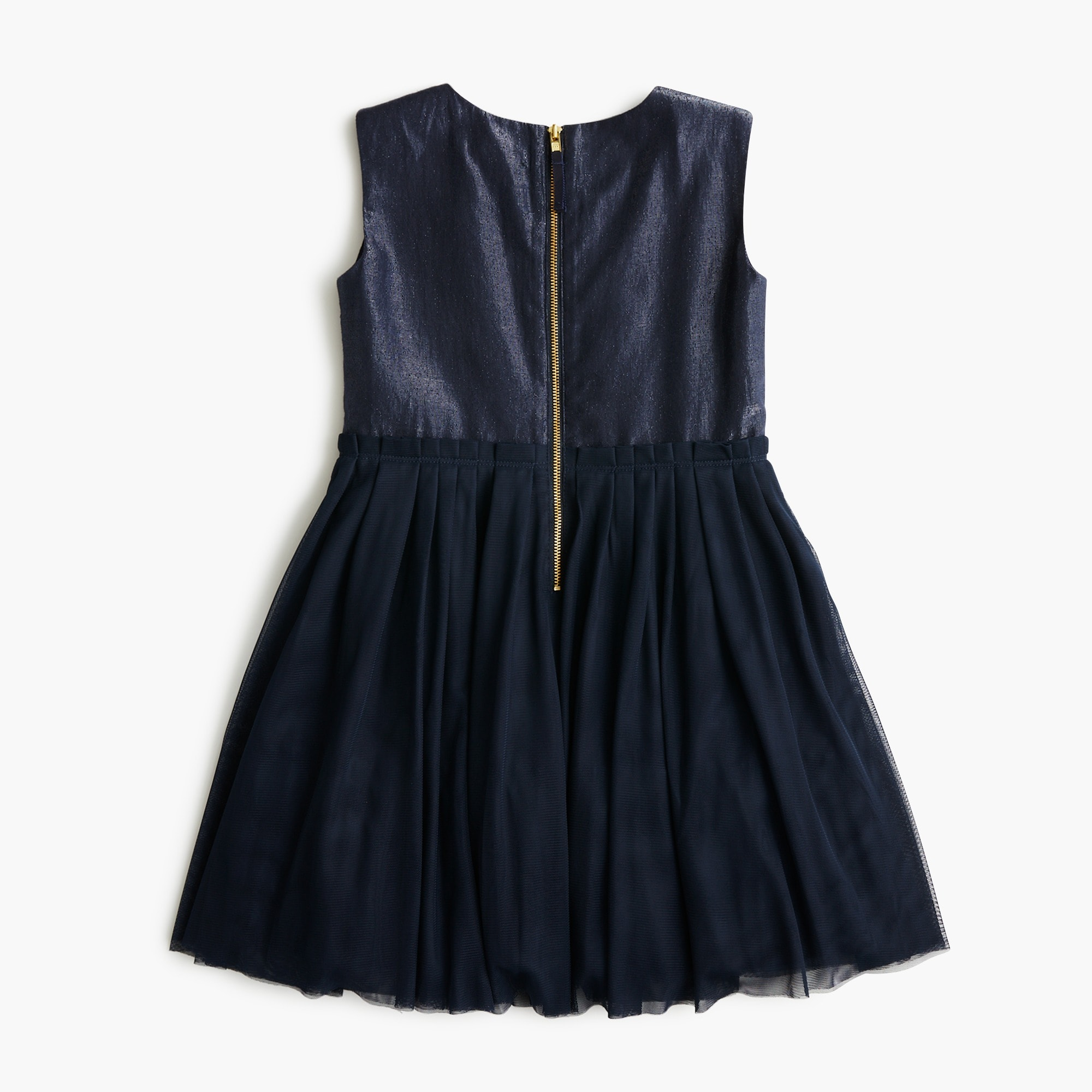 Girls' tulle-skirted dress