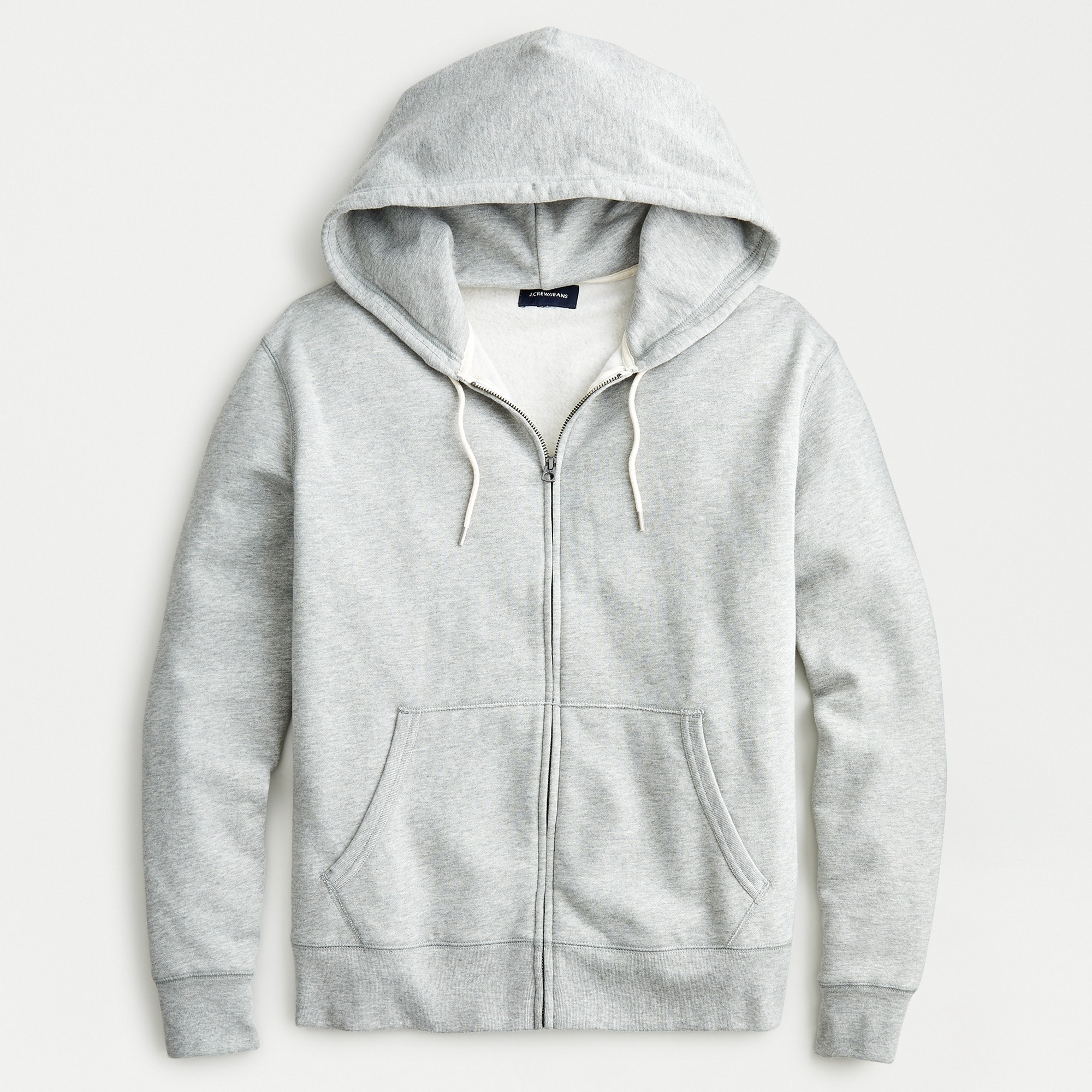 Tall brushed fleece full-zip sweatshirt