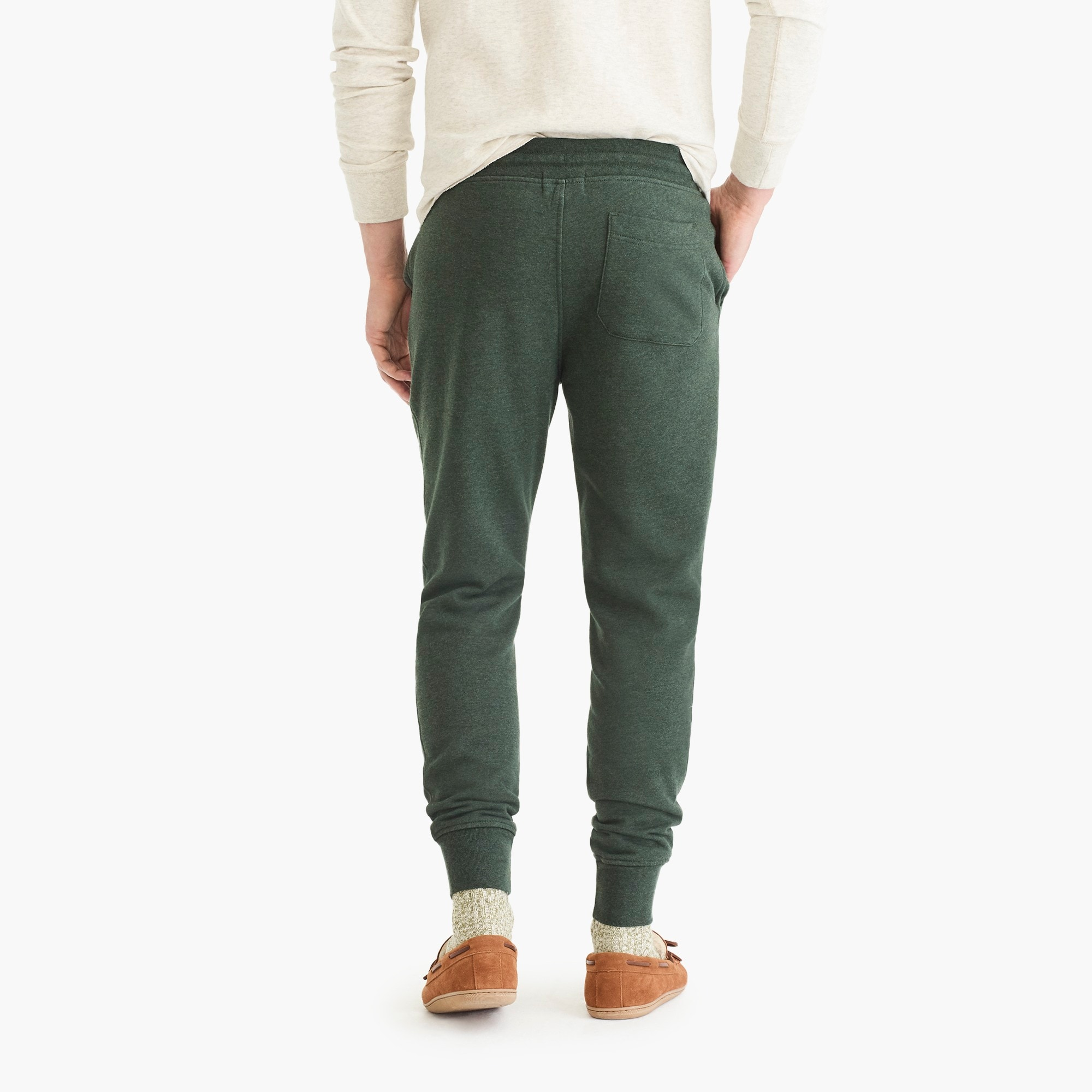 Slim brushed fleece sweatpant