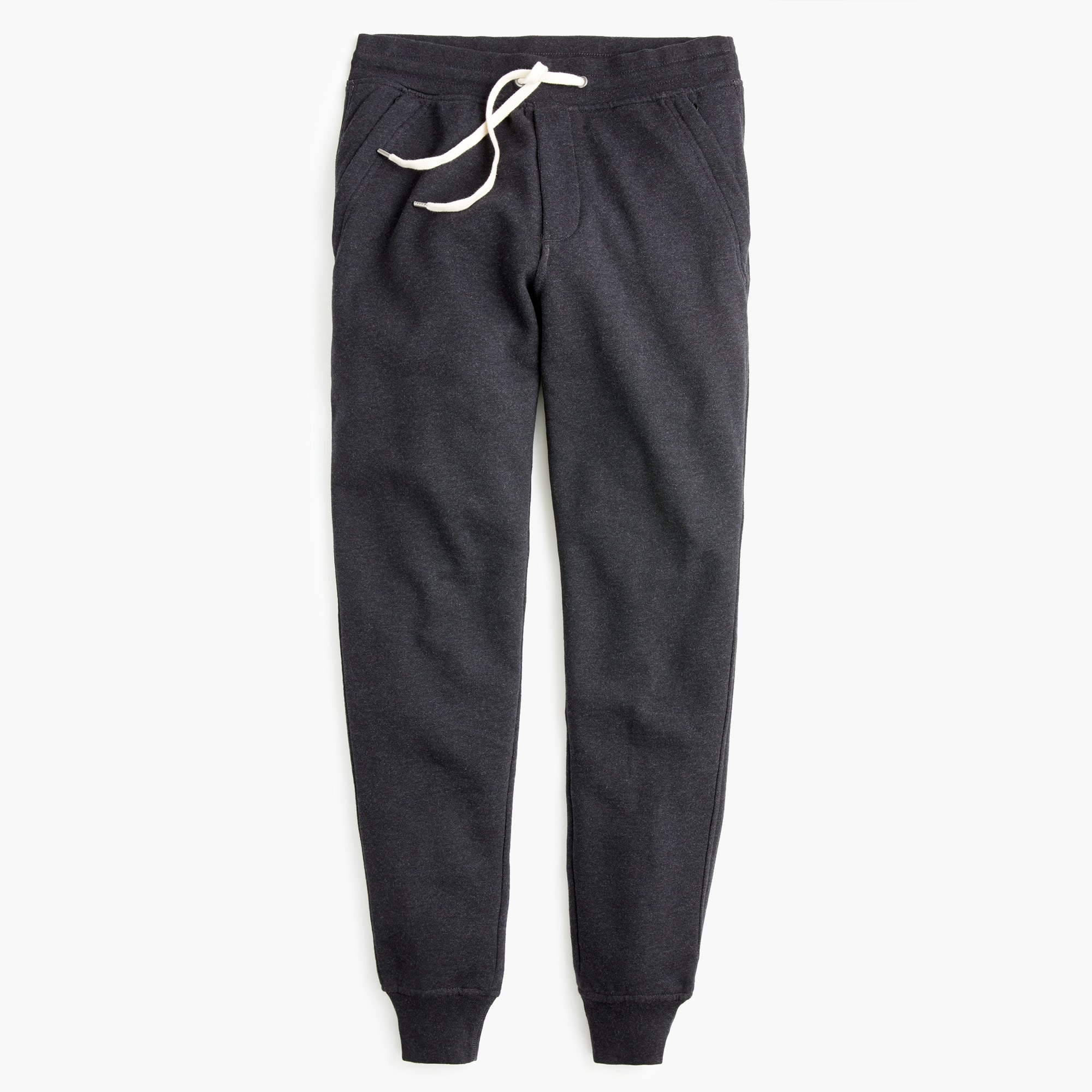 men's slim brushed fleece sweatpant - men's knits