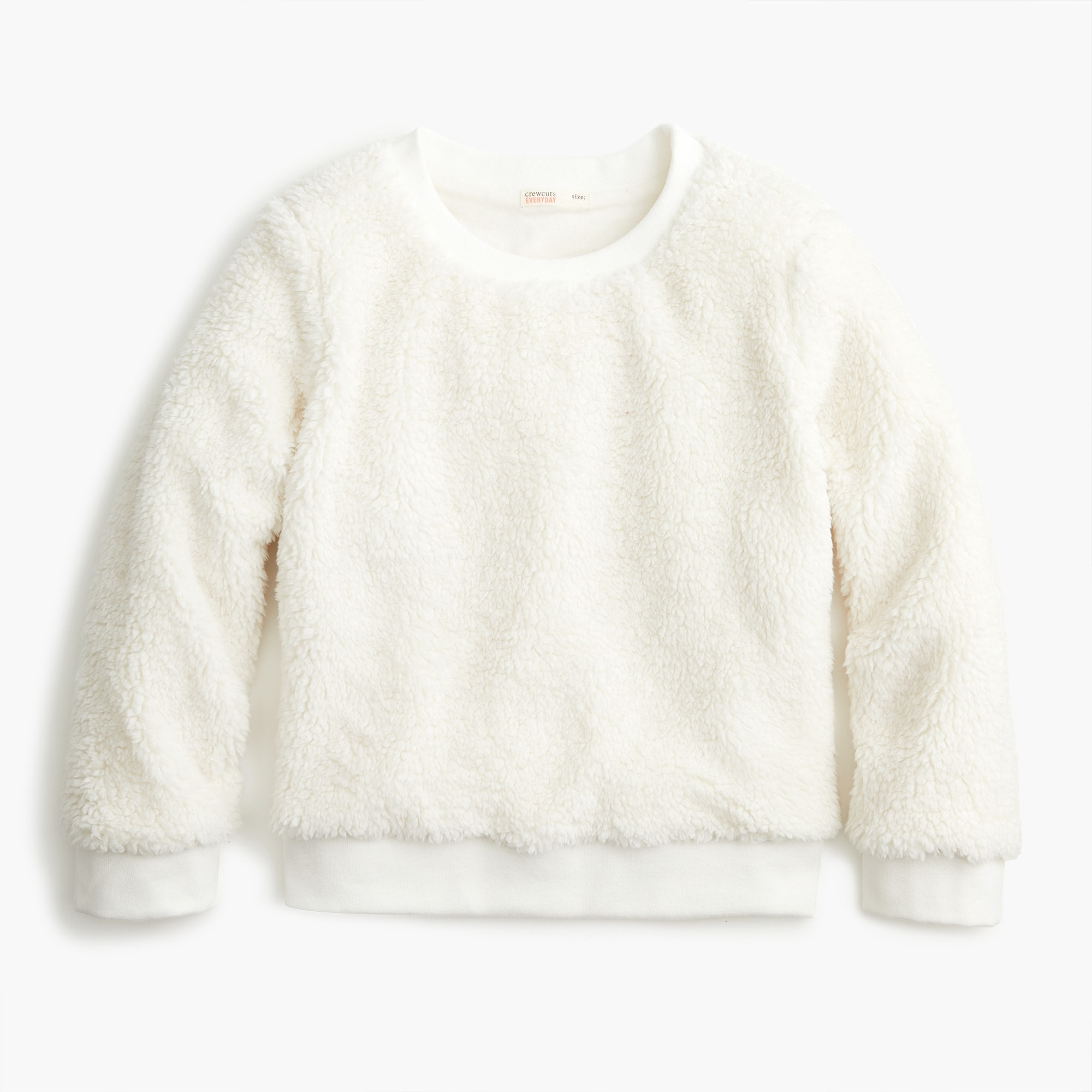 girls Girls' sherpa sweatshirt