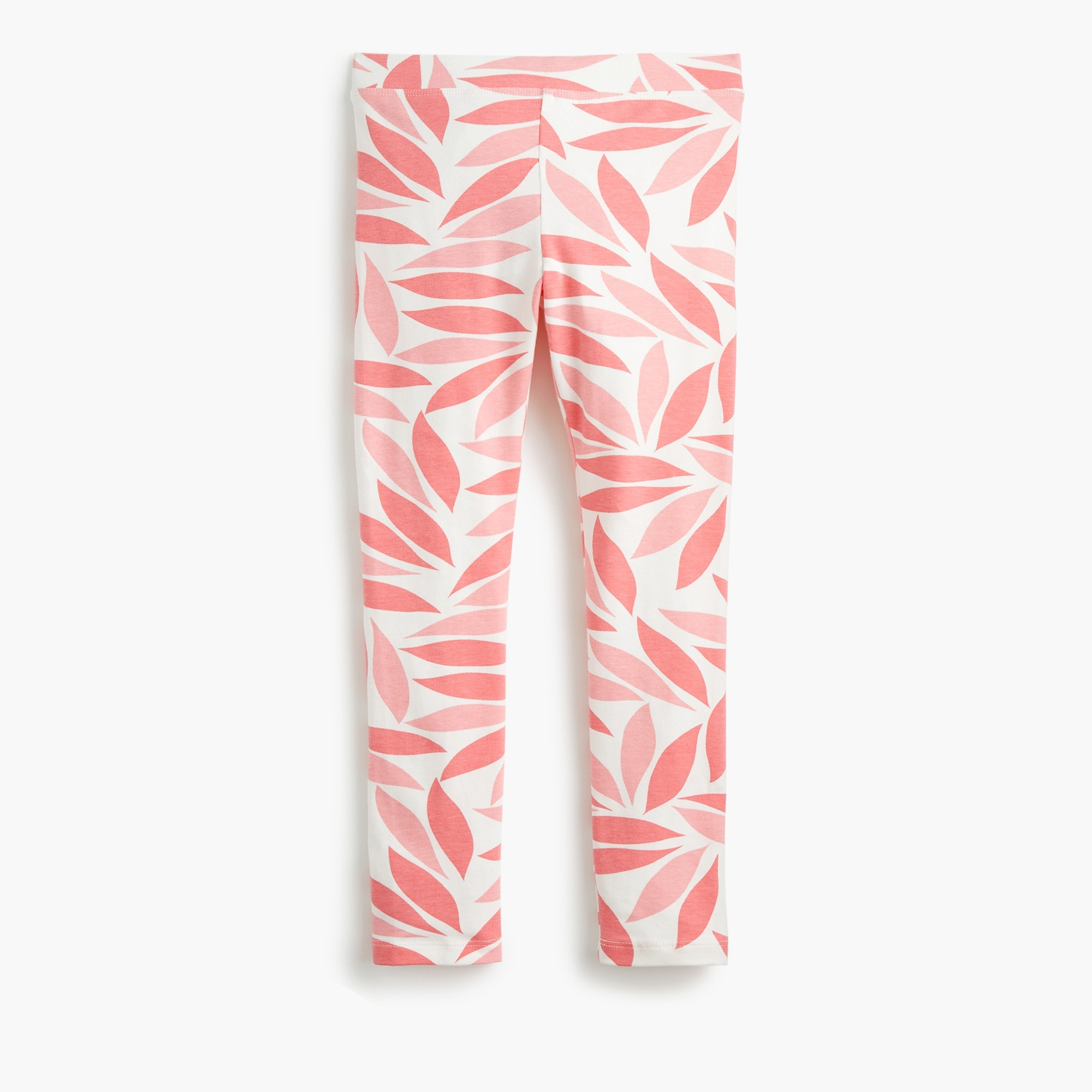Girls' everyday leggings in coral petal