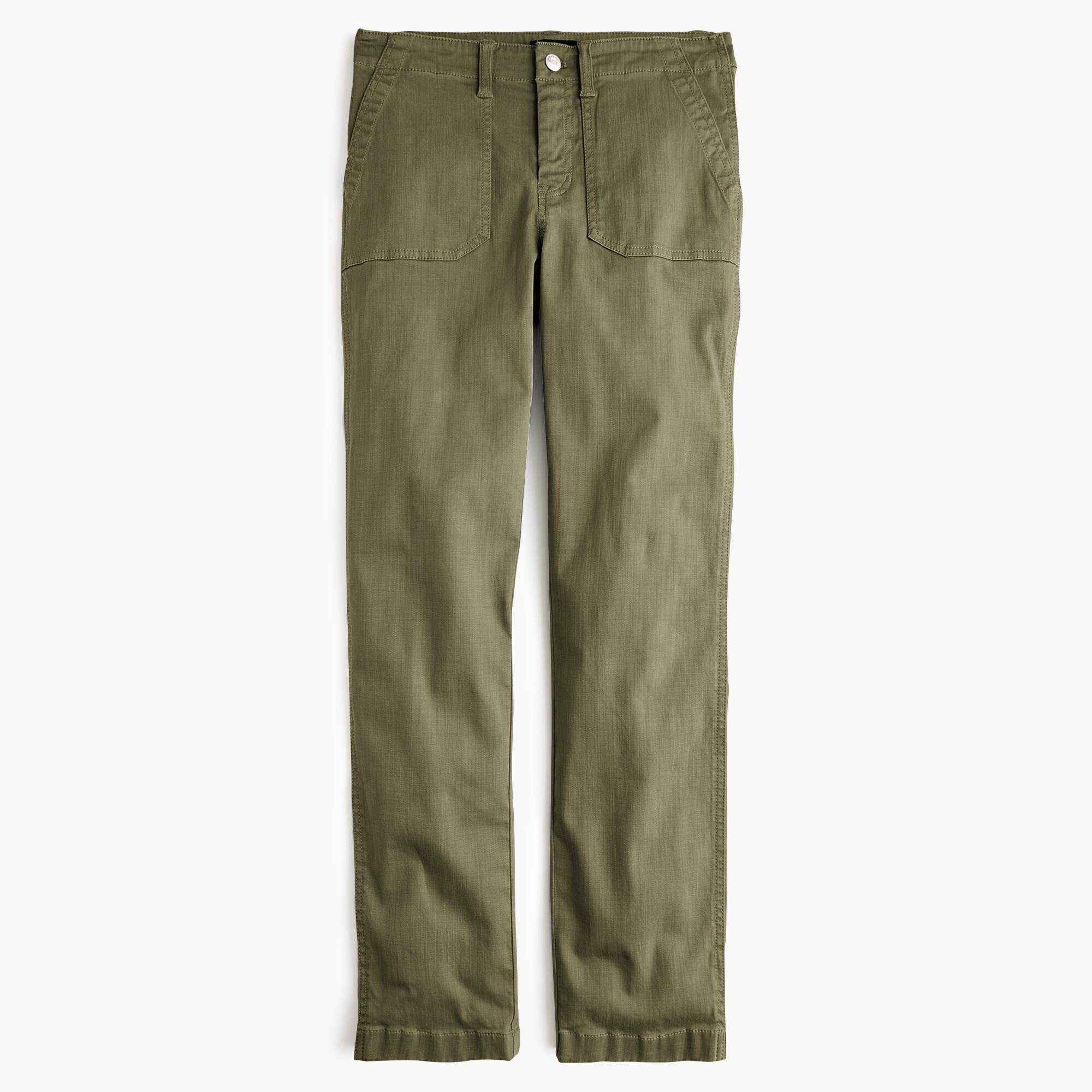 Image 7 for Vintage straight cargo pant in slub sateen