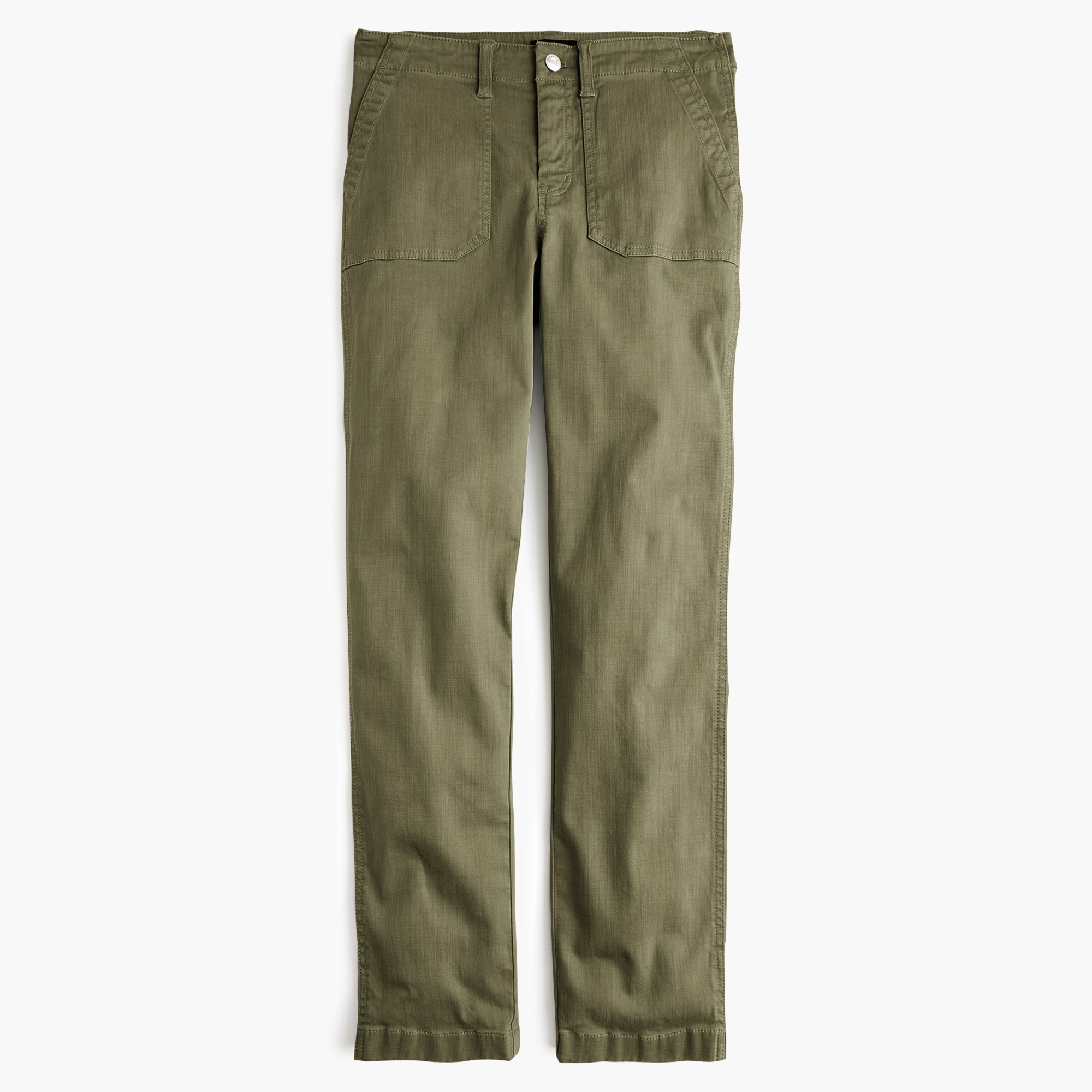 Image 2 for Vintage straight cargo pant in slub sateen