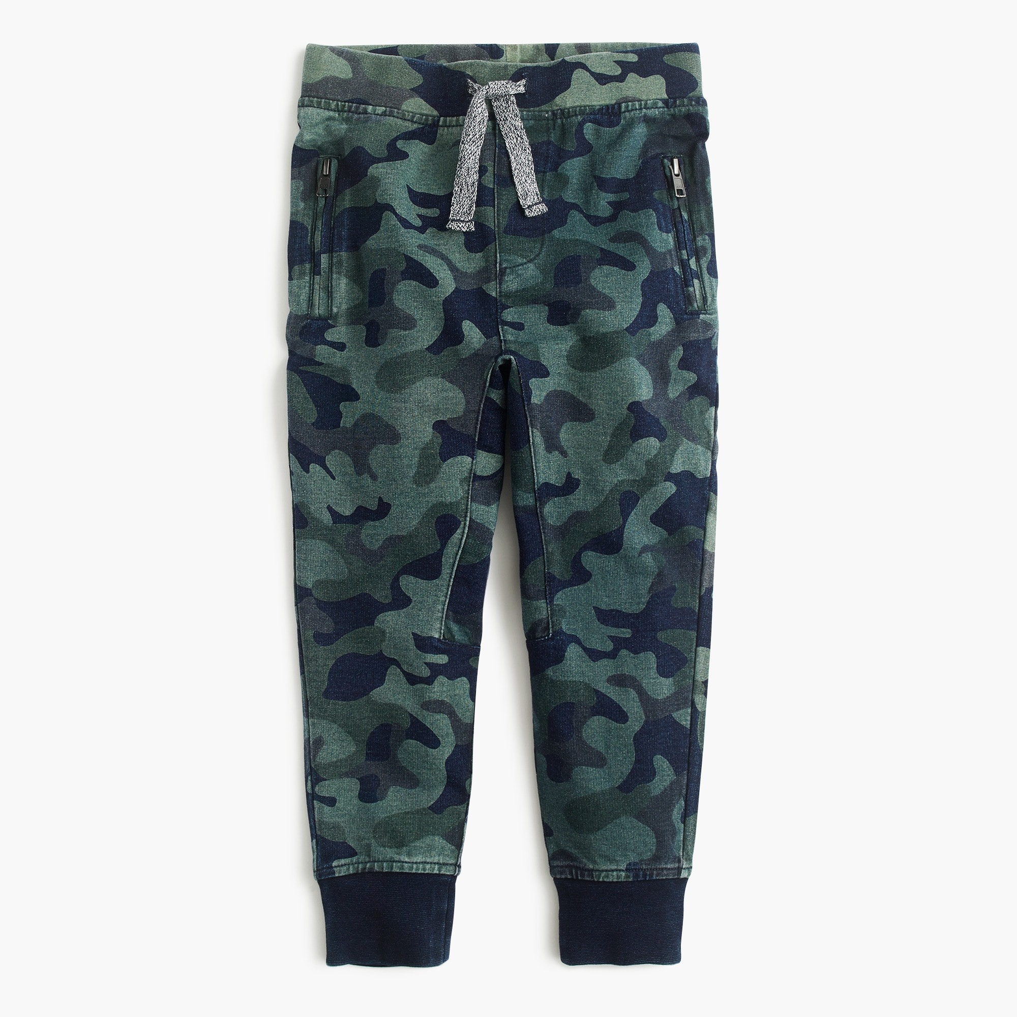 Image 1 for Boys' camo sweatpant in slim fit