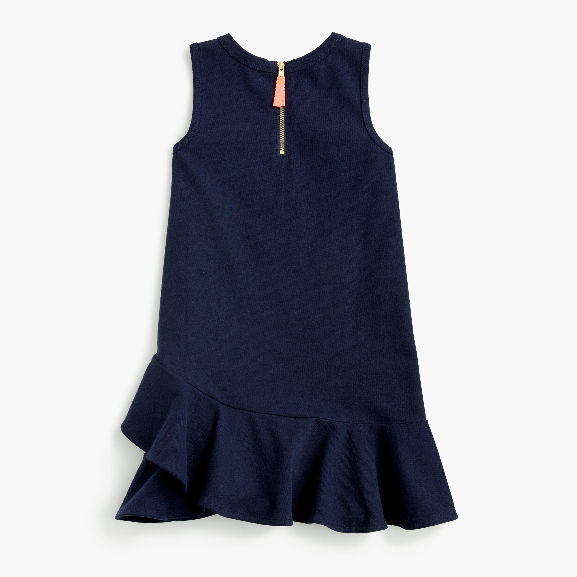 Image 1 for Girls' ruffle-hem dress