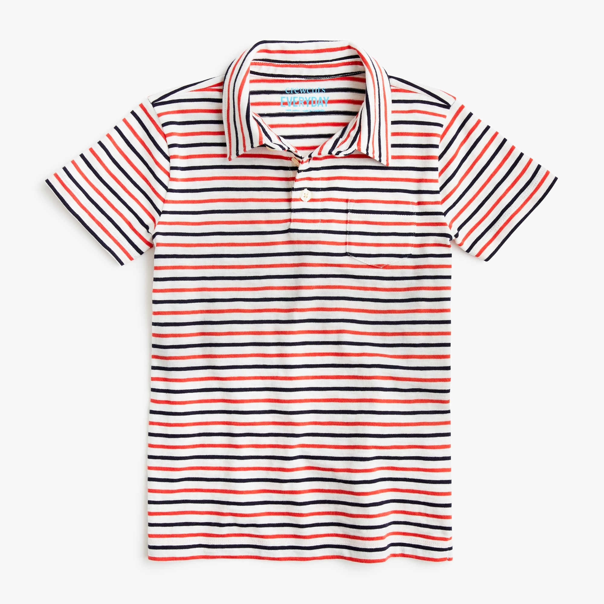 boys Boys' striped polo shirt