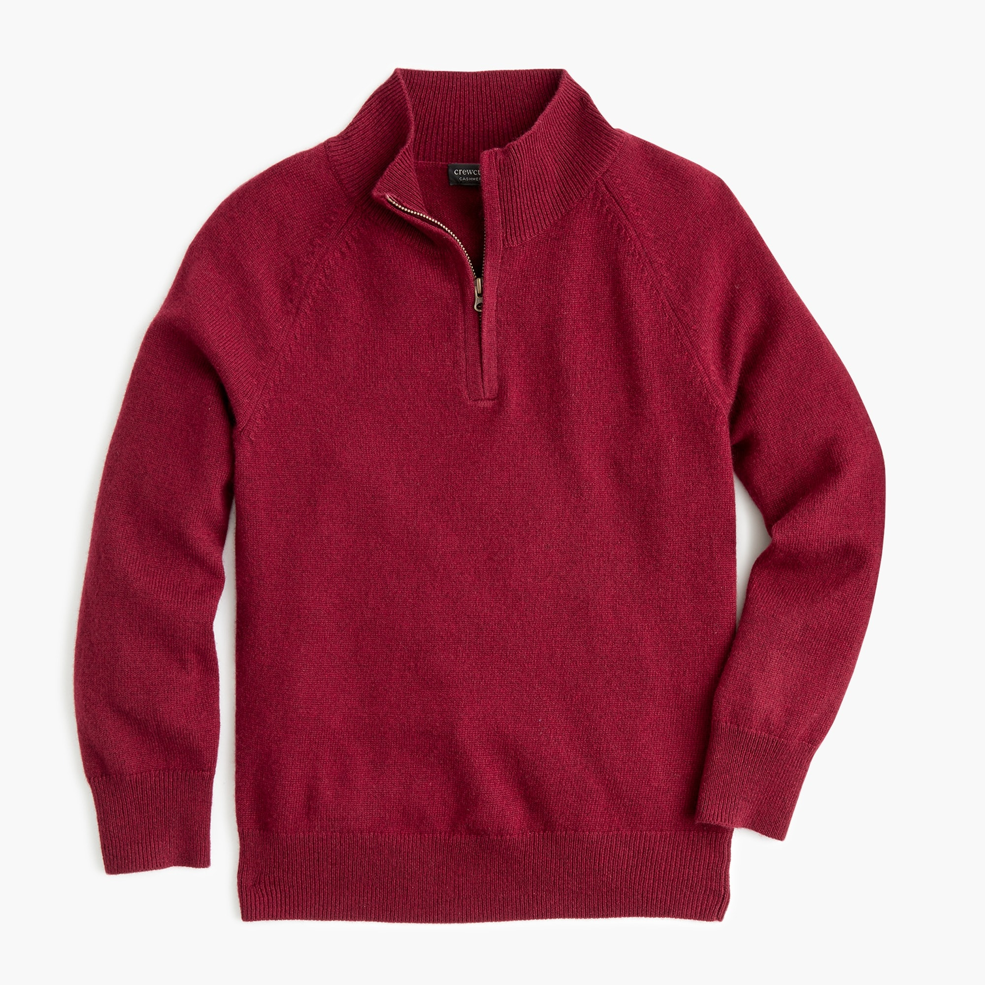boys Boys' cashmere half-zip sweater