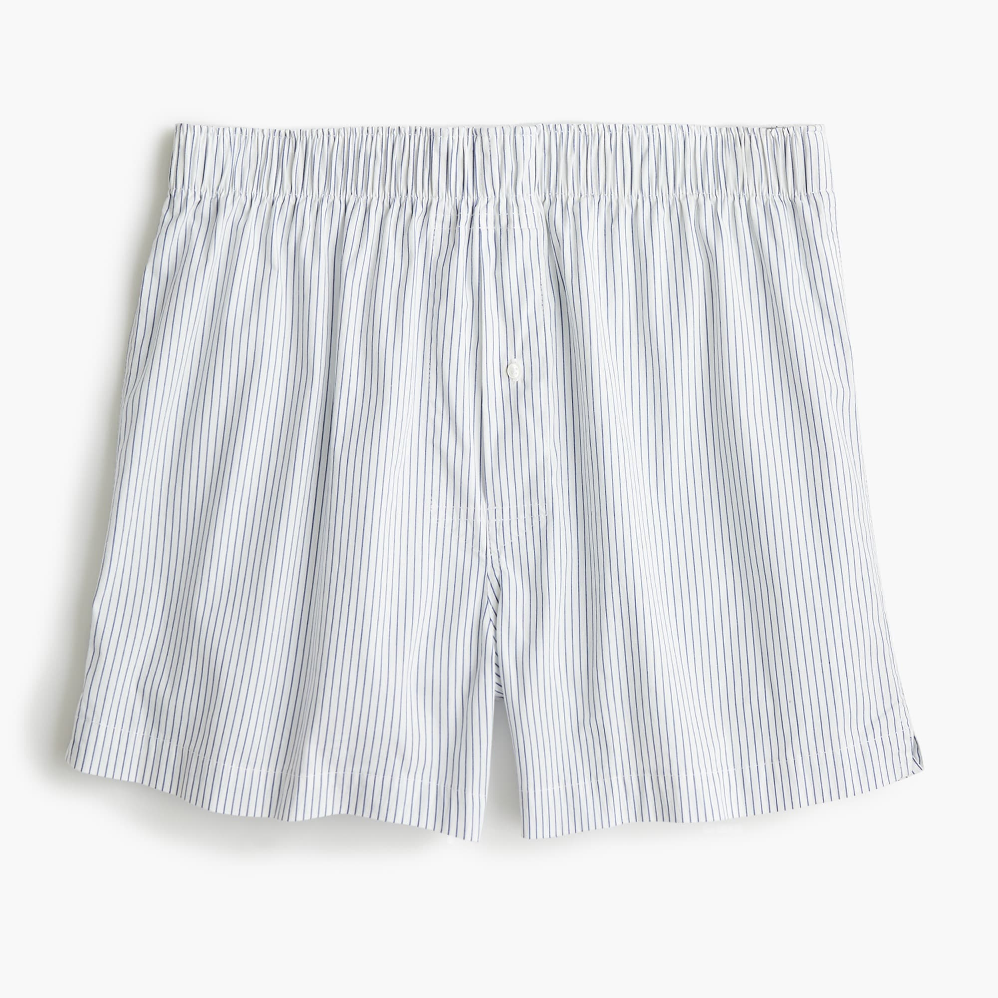 mens Stretch white striped boxers