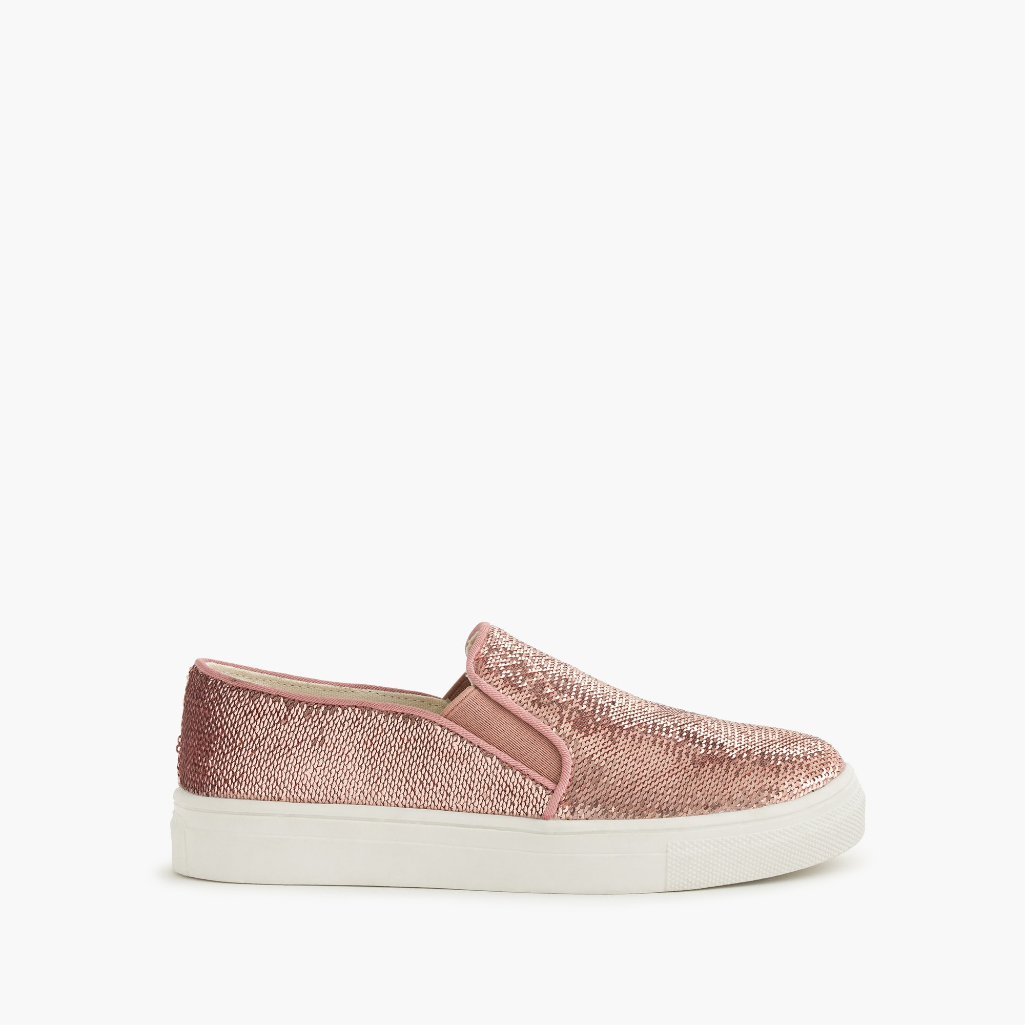 girls' sequined slip-on sneakers - girls' footwear