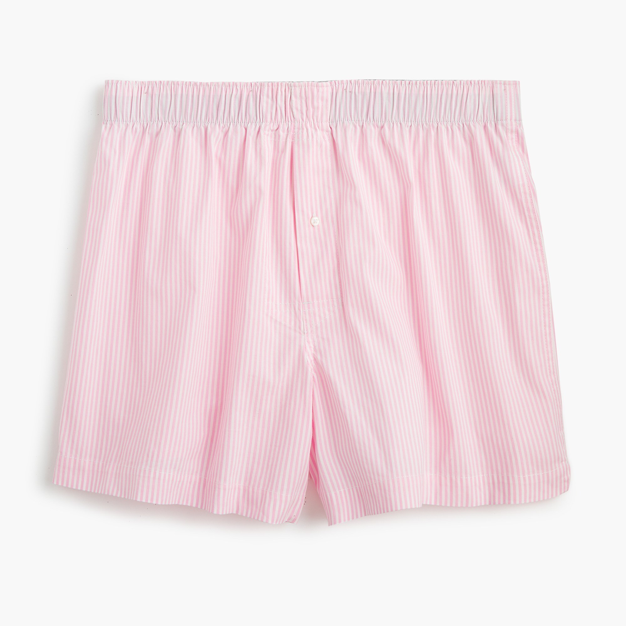 mens Stretch pink striped boxers